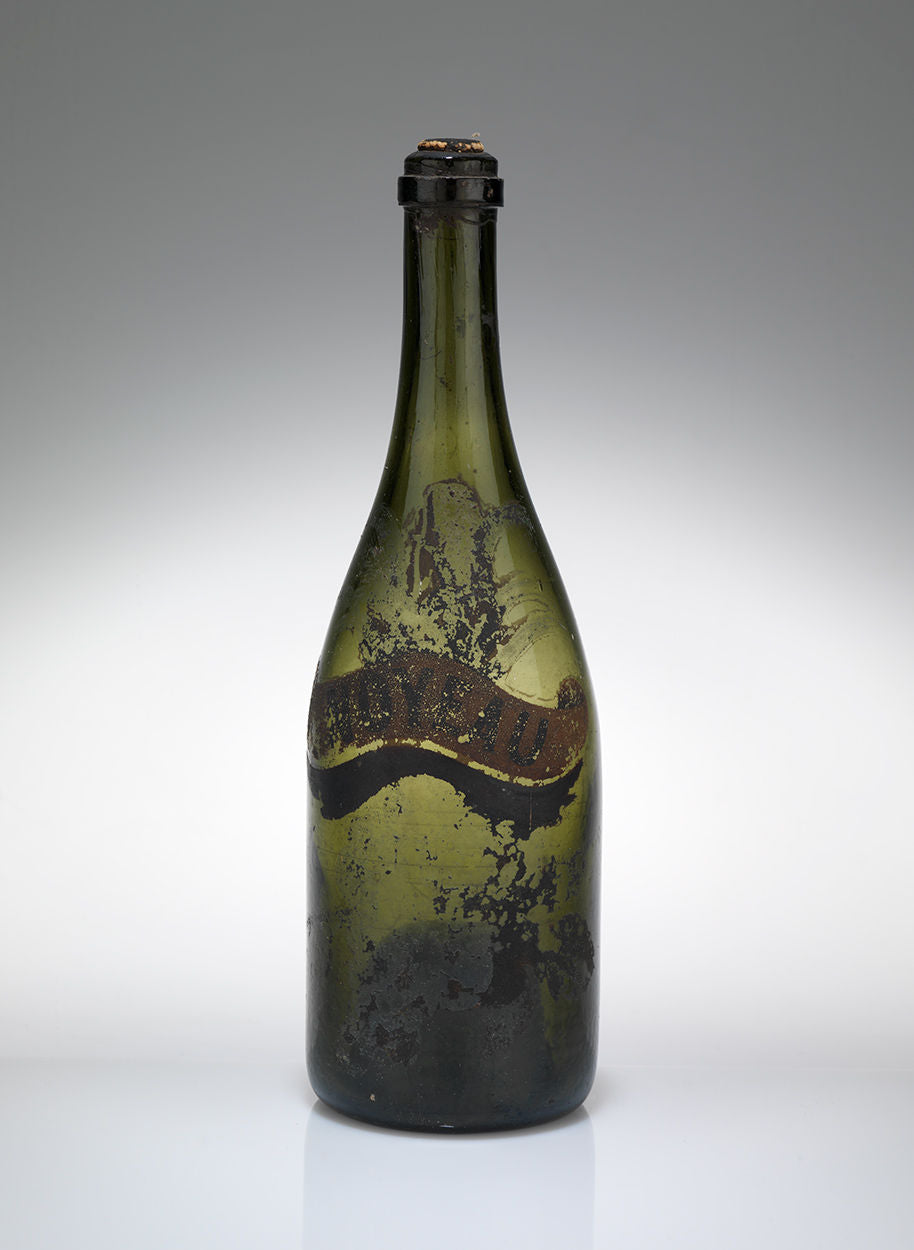 Three Unusual Hand Painted Bottles