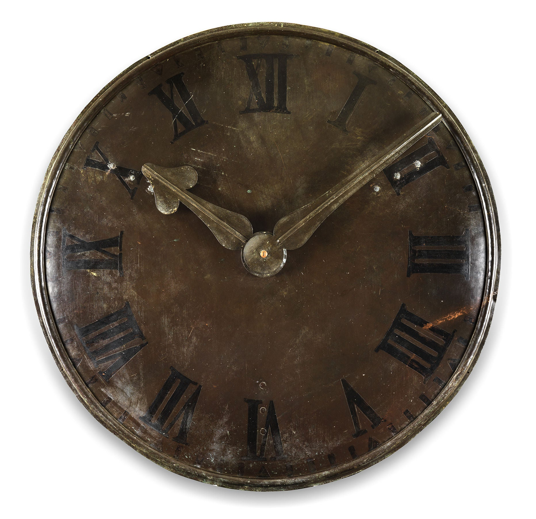 Fine Large Early Architectural Clock Face