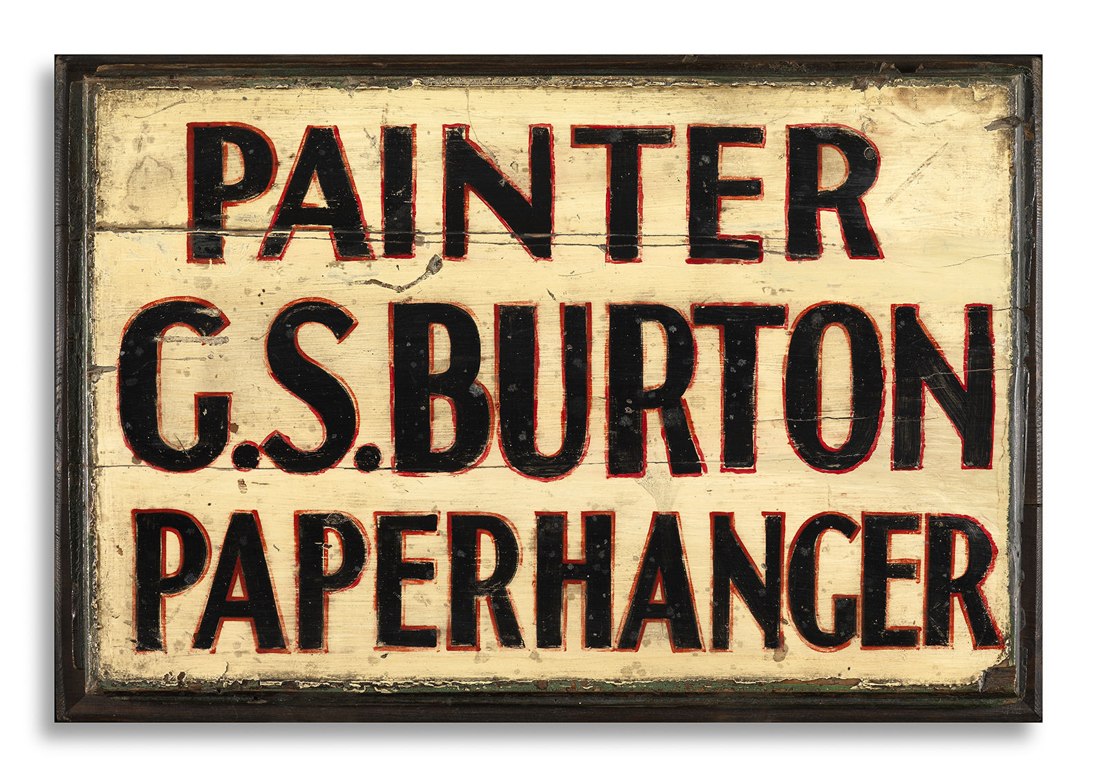 Painter's and Paper Hanger's Trade Sign