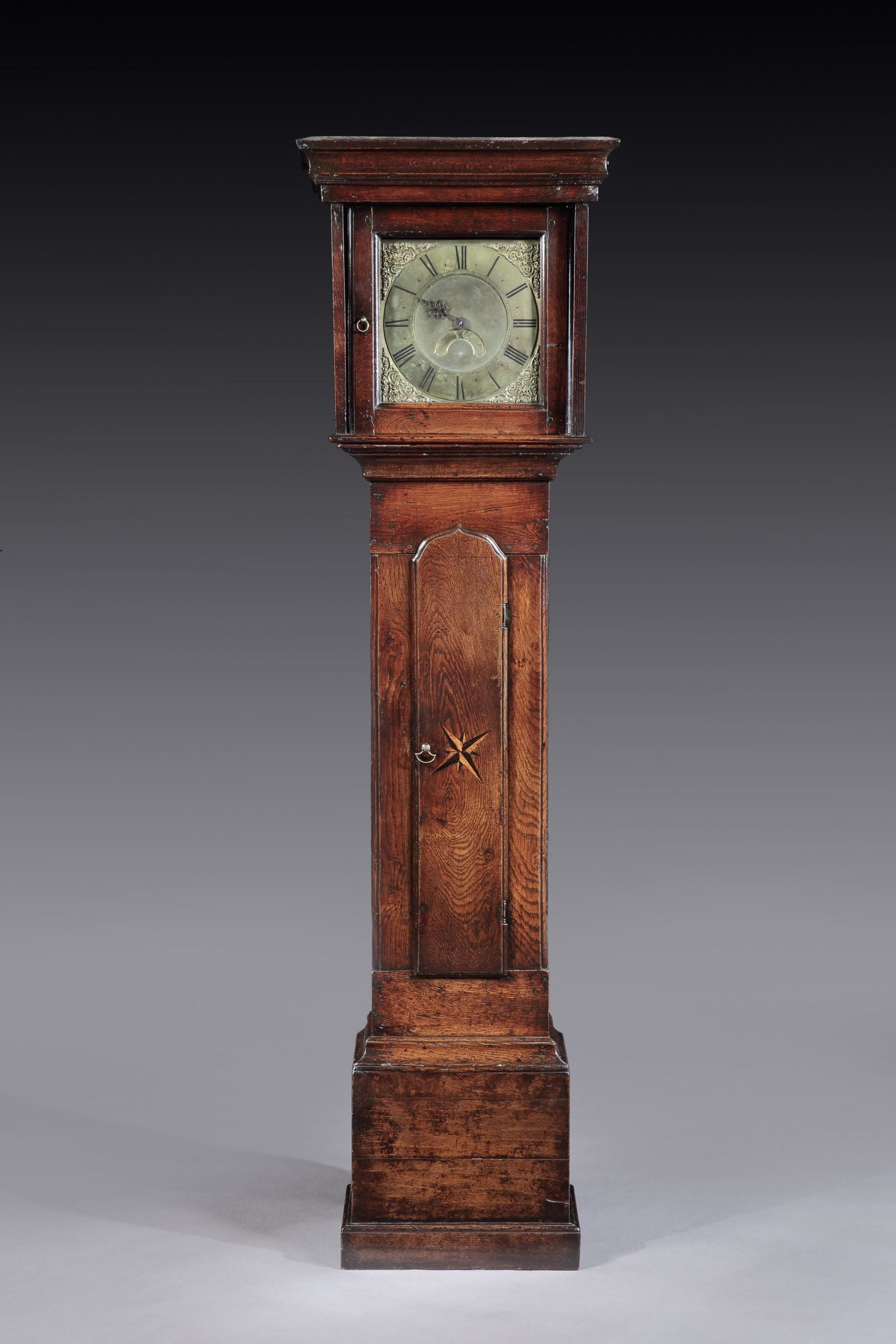 Unusual Vernacular Thirty Hour Longcase Clock