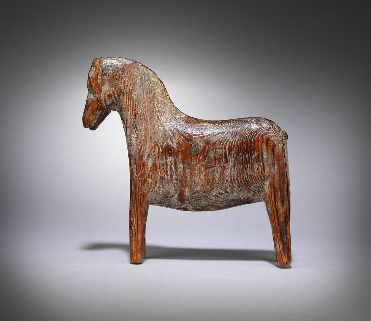 "Primitive Folk Art ""Dala"" Horse"