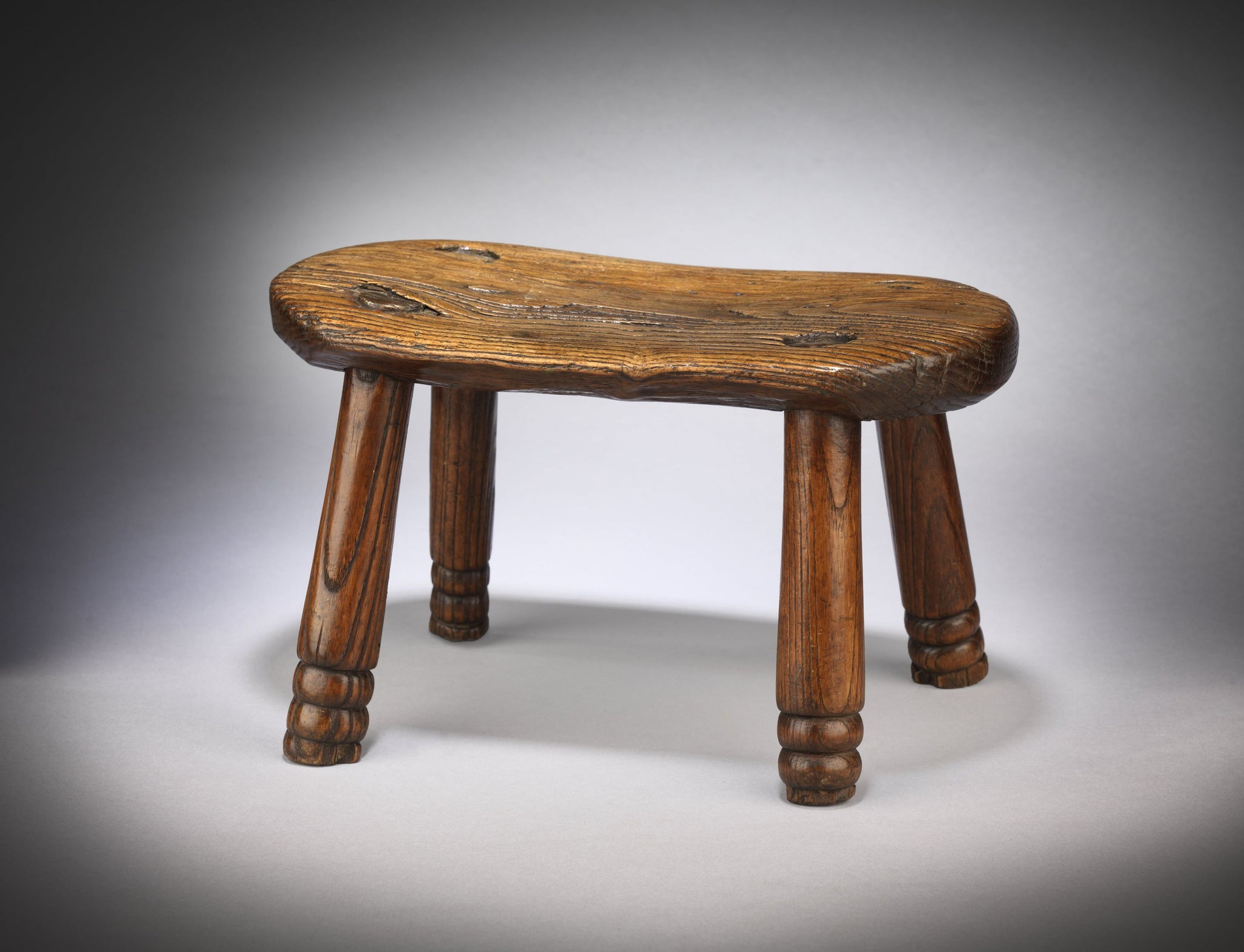 Vernacular Georgian Four Legged Stool