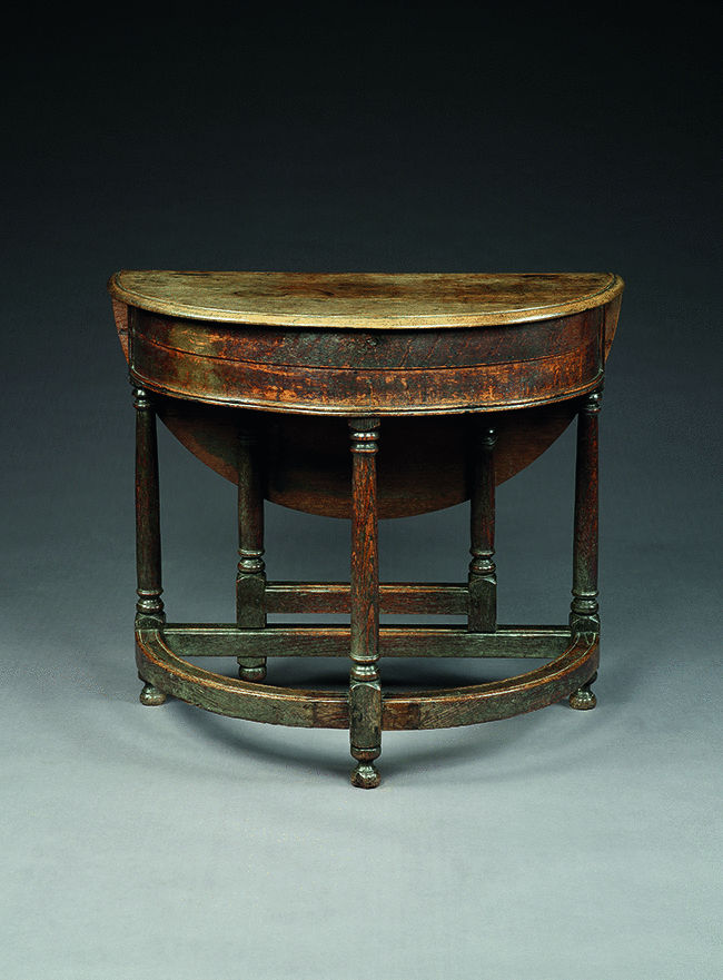 "William and Mary Period ""Credence"" Table"