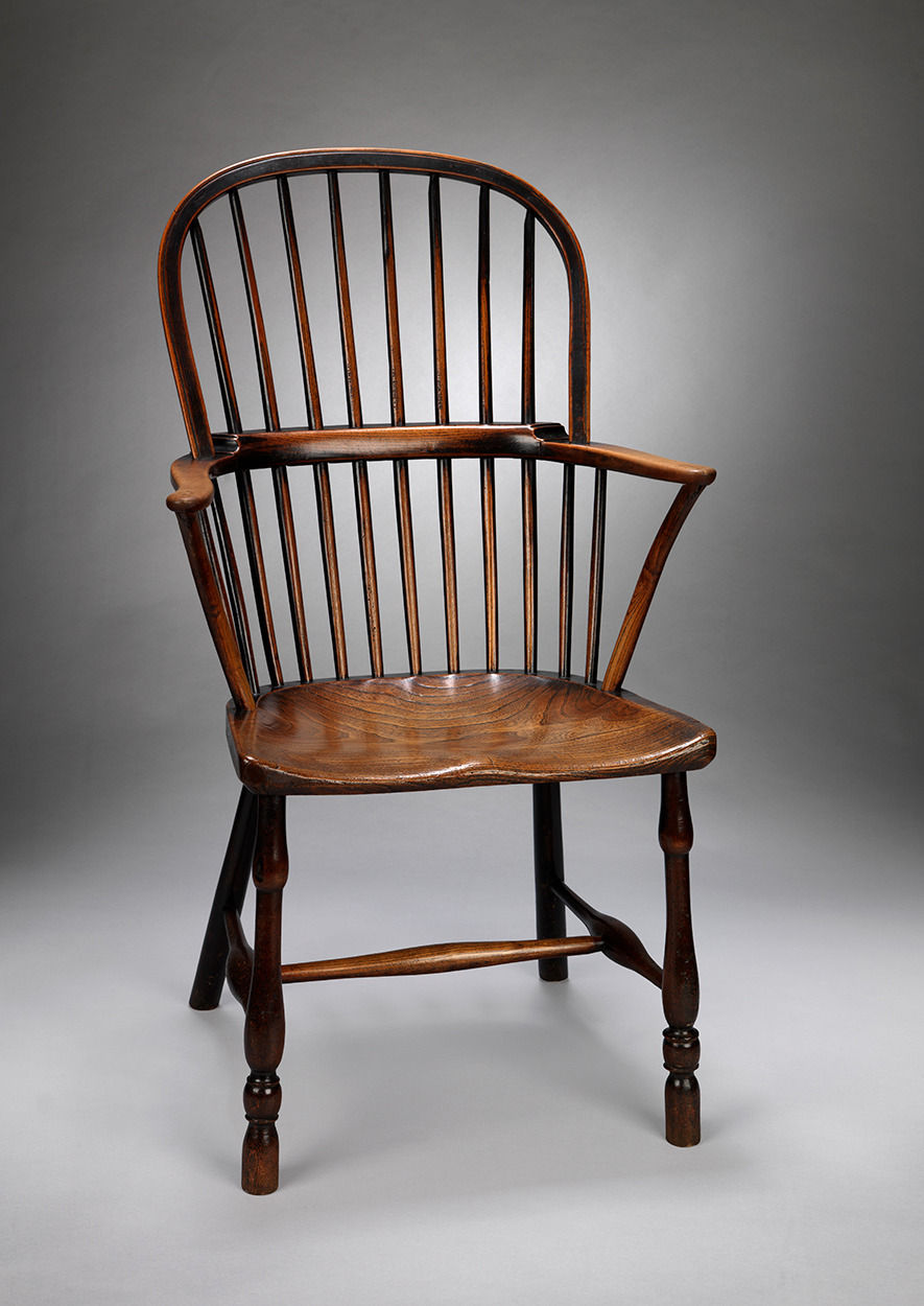 Vernacular Georgian Bow Back Windsor Chair