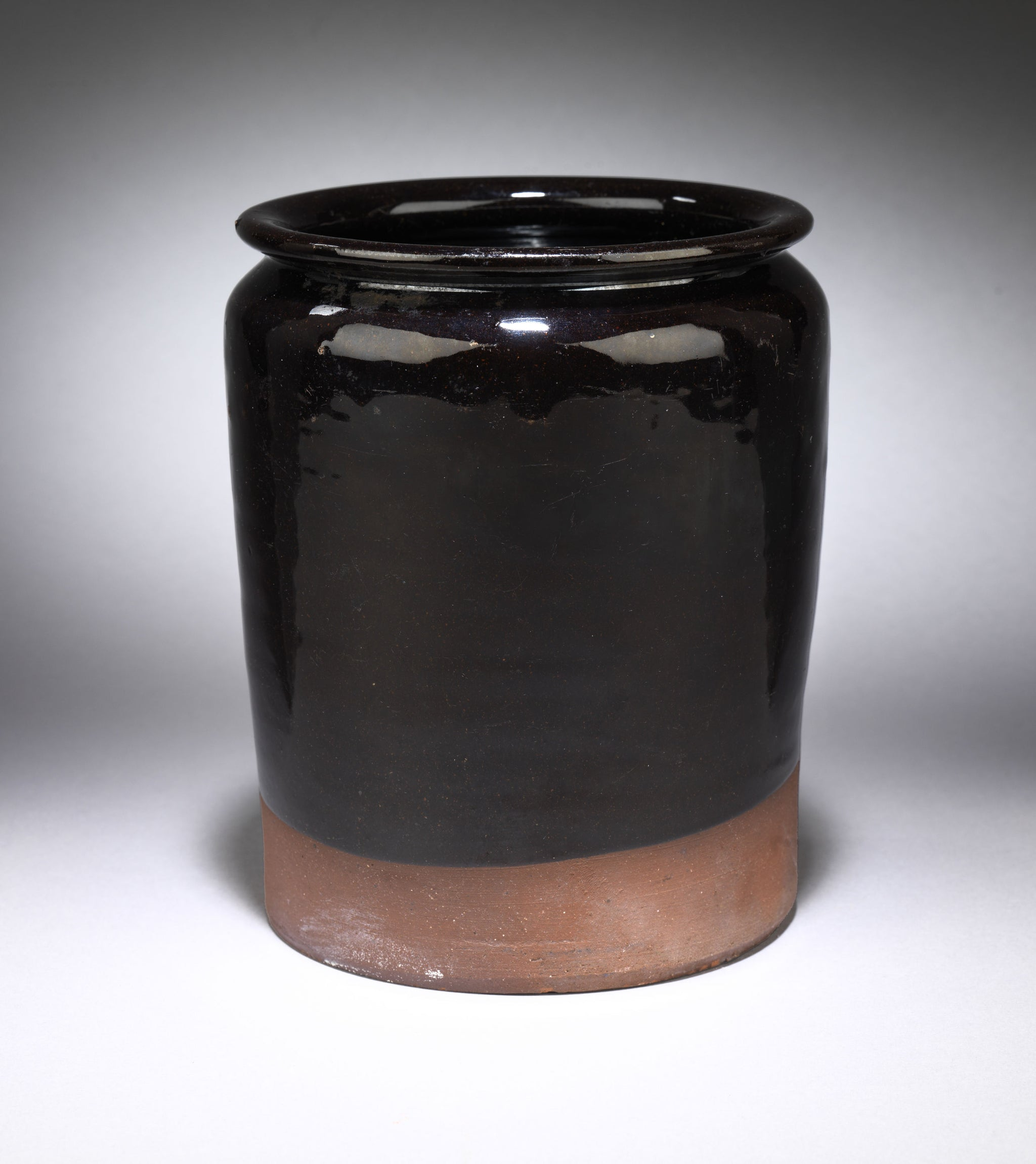 Traditional Cylindrical Storage Crock