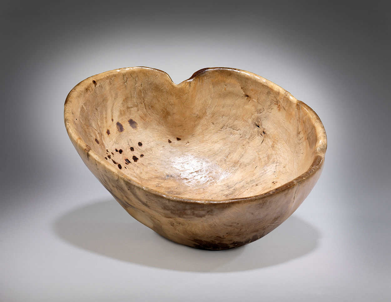 "Small ""Heart"" Shaped Rootwood Bowl"