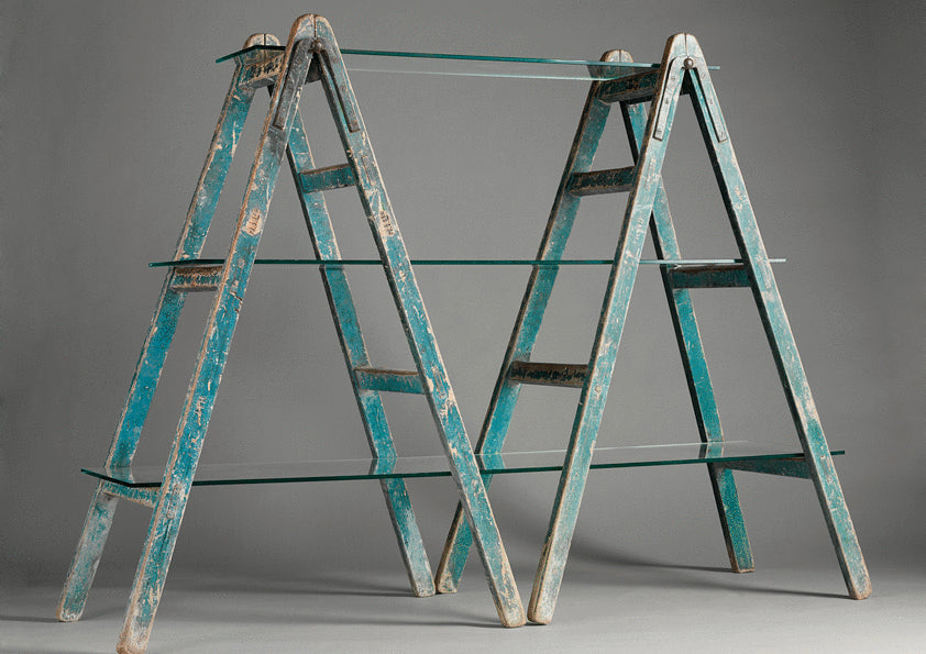 Pair of Vintage Signwriters Trestles
