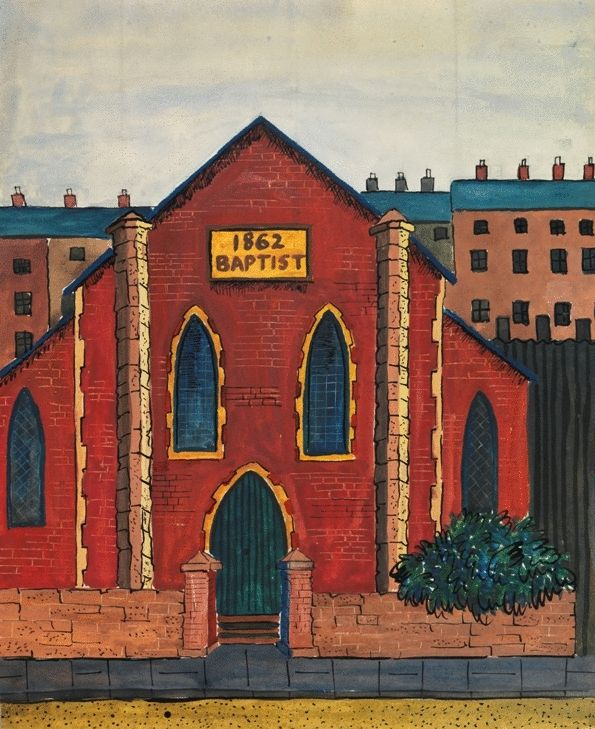 The Baptist Chapel, 1862