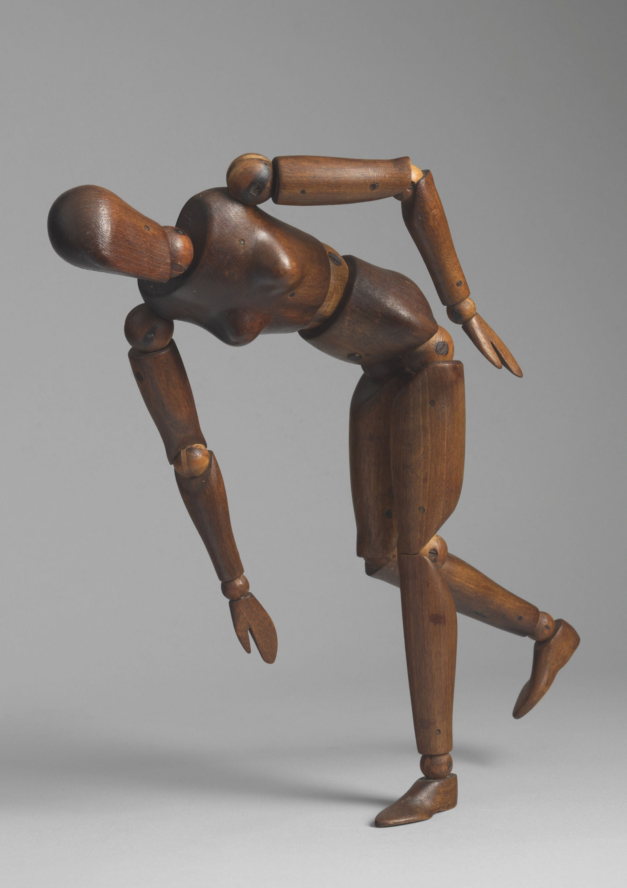 Stylised Female Form Artist's Lay Figure or Mannequin