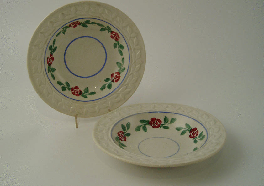 Pair of Decorated Bowls