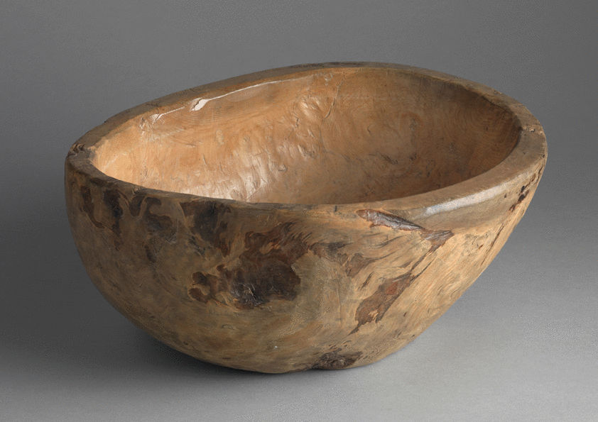 Heavy Rimmed Root Burr Bowl