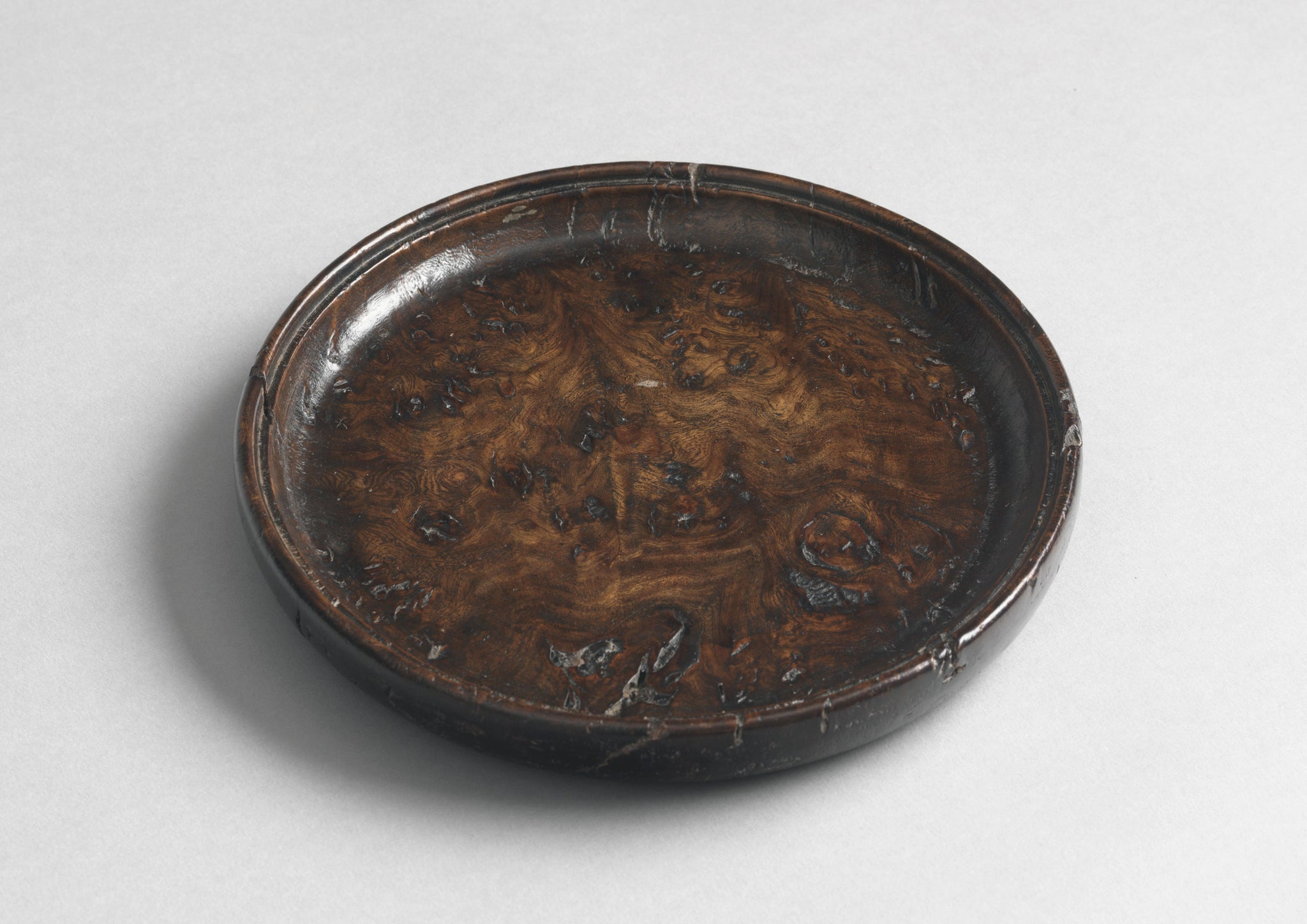 Specimen Burr Wood Wine Coaster