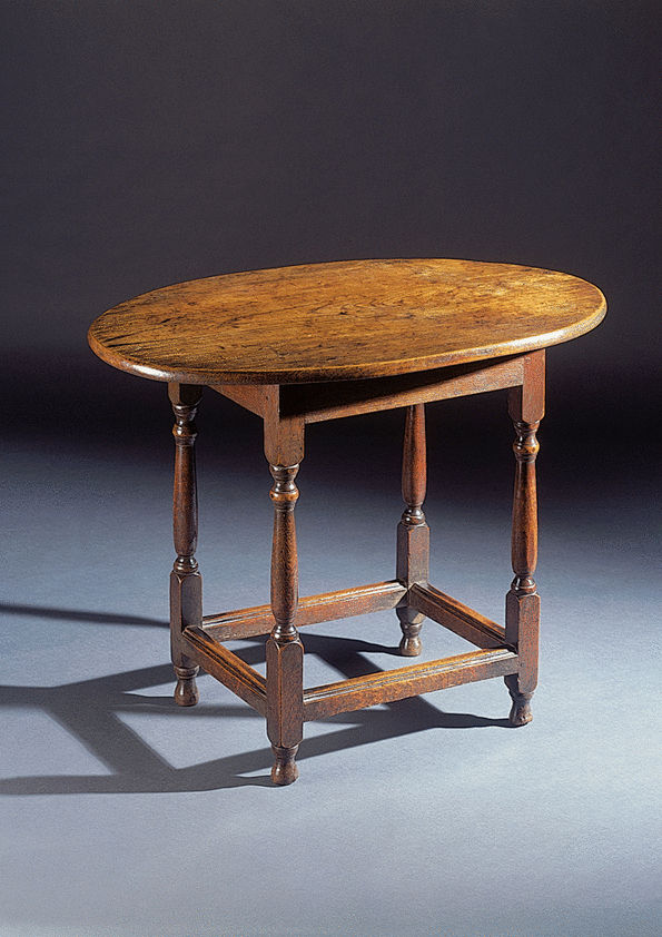 Oval Tavern Table