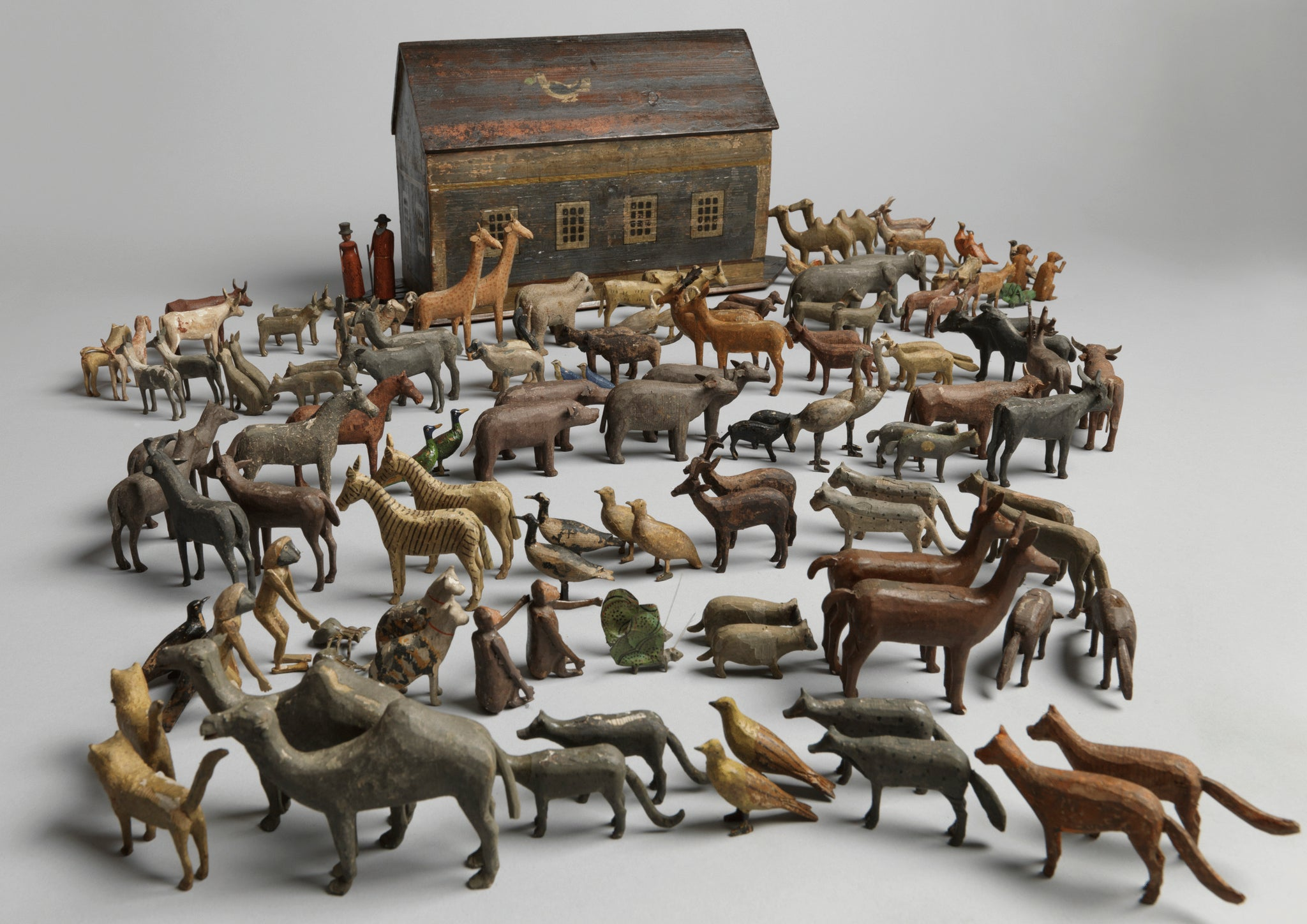 Original Toy Noah's Ark and Animals