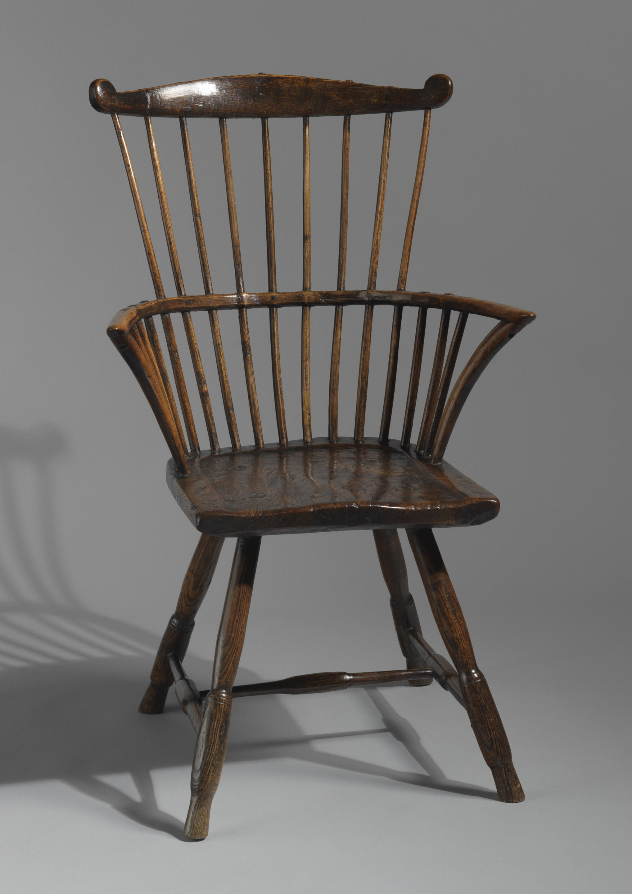 Elegant Early Fan Back Windsor Chair
