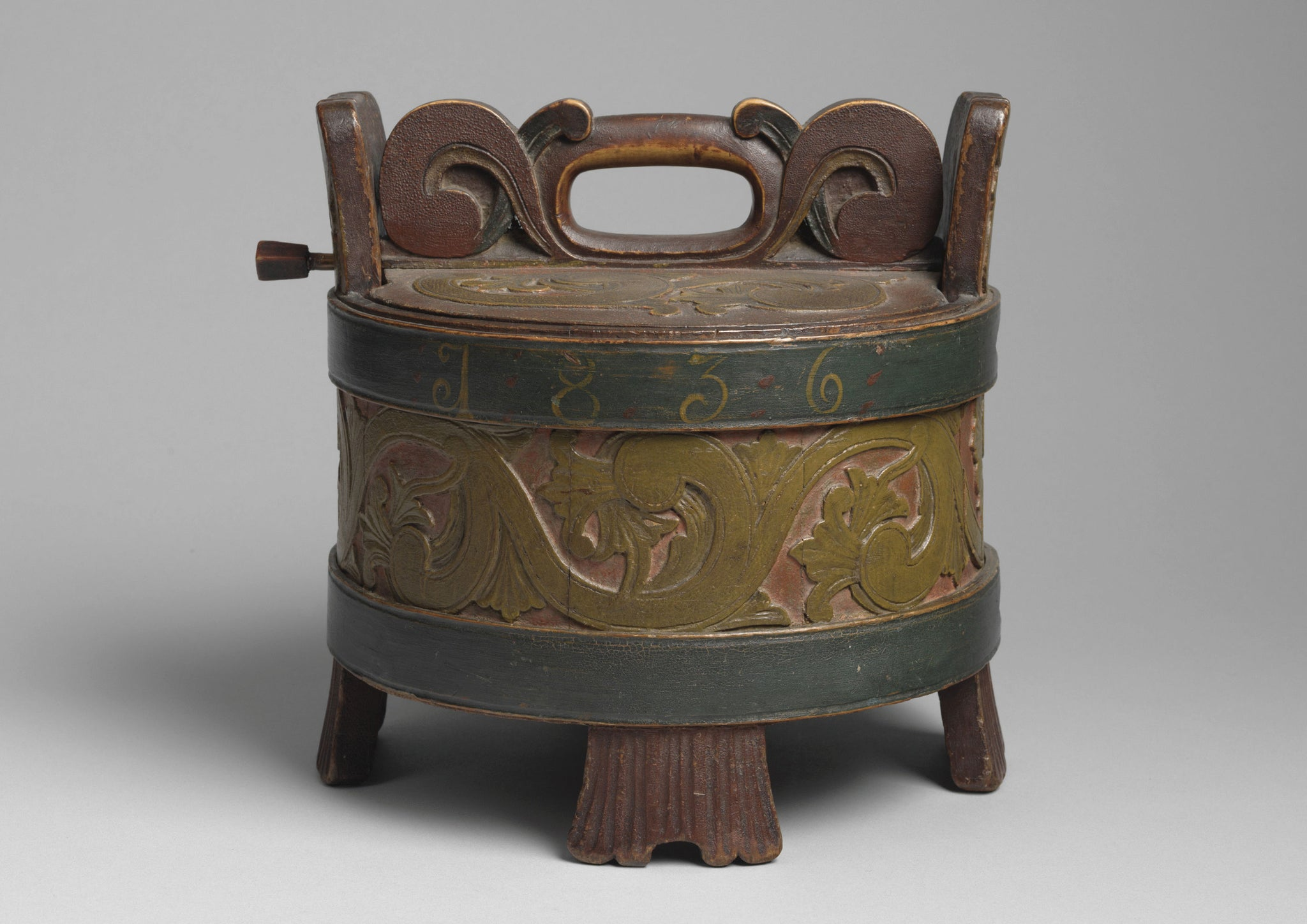 Lidded Love Token Dry Storage Box