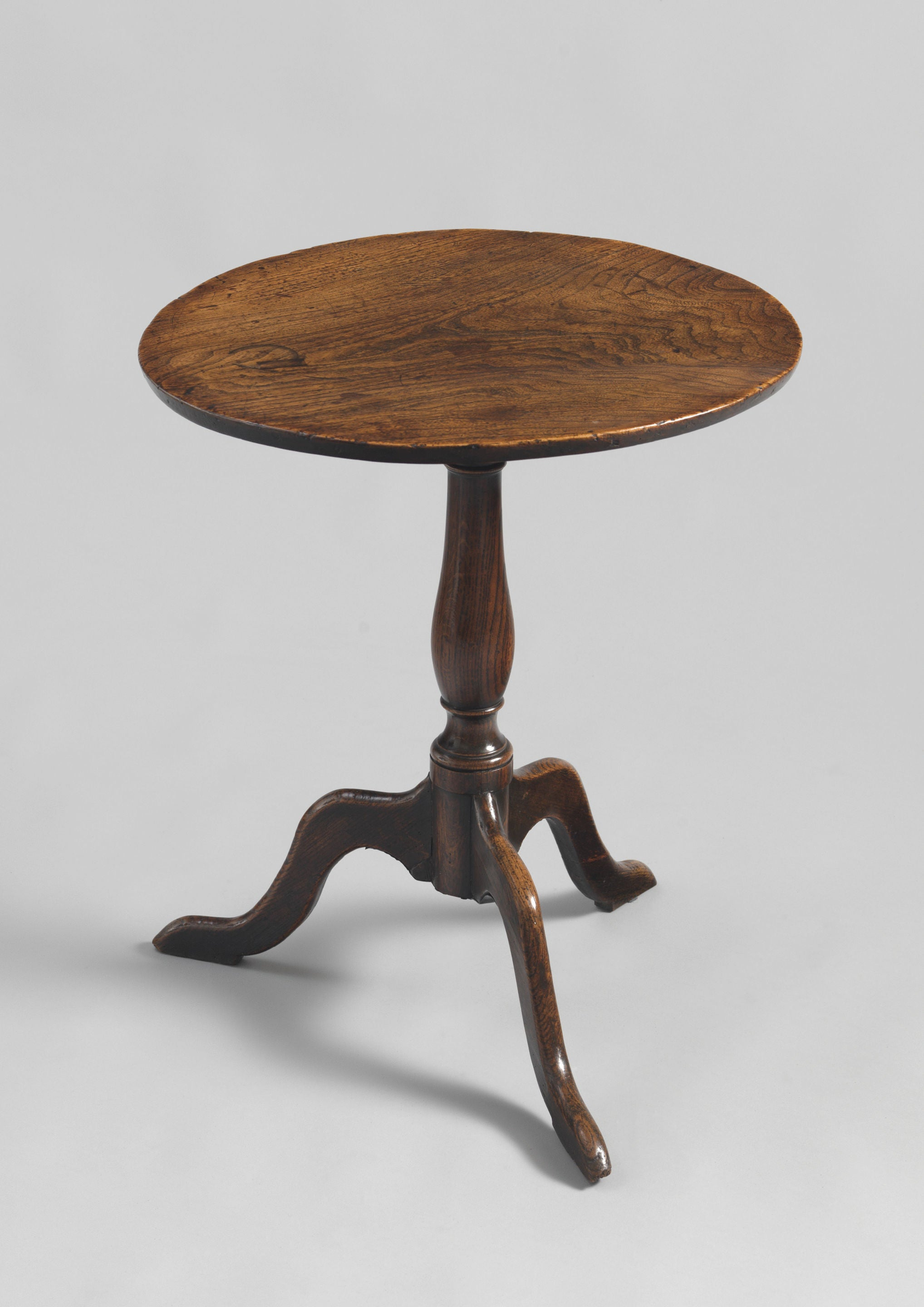 Provincial Georgian Single Plank Top Tripod Wine Table