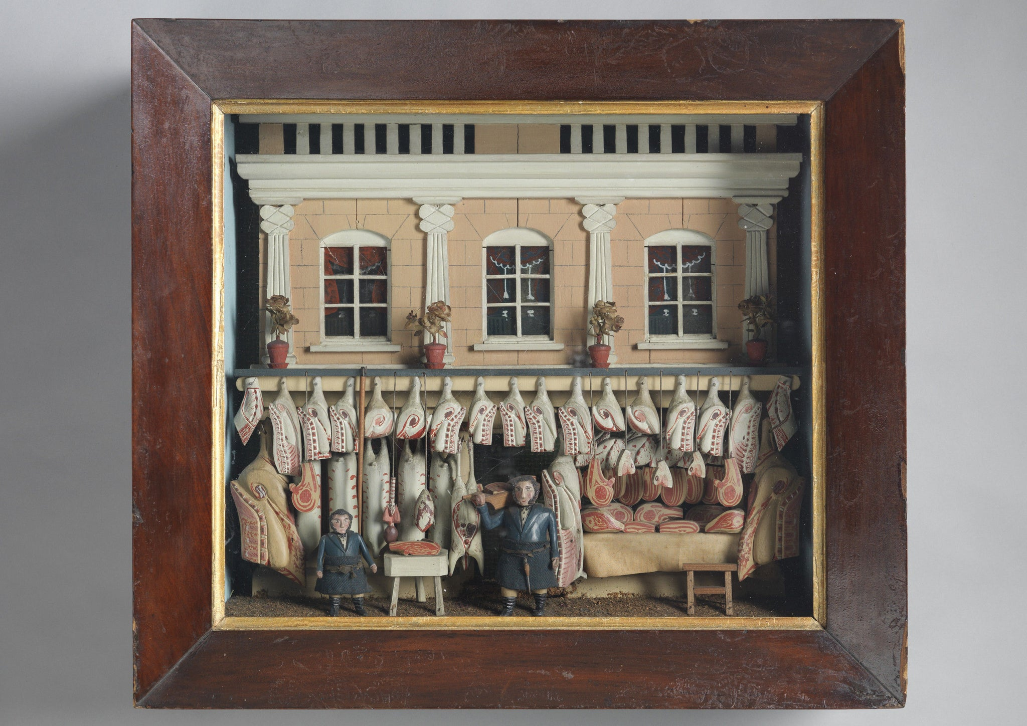 Fine Butcher's Shop Diorama