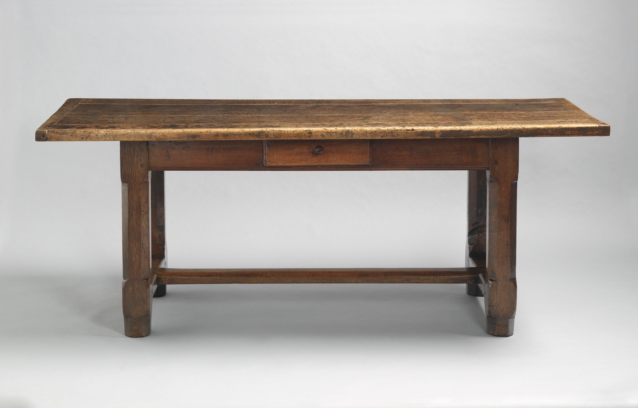 Richly Patinated Classic Refectory Table