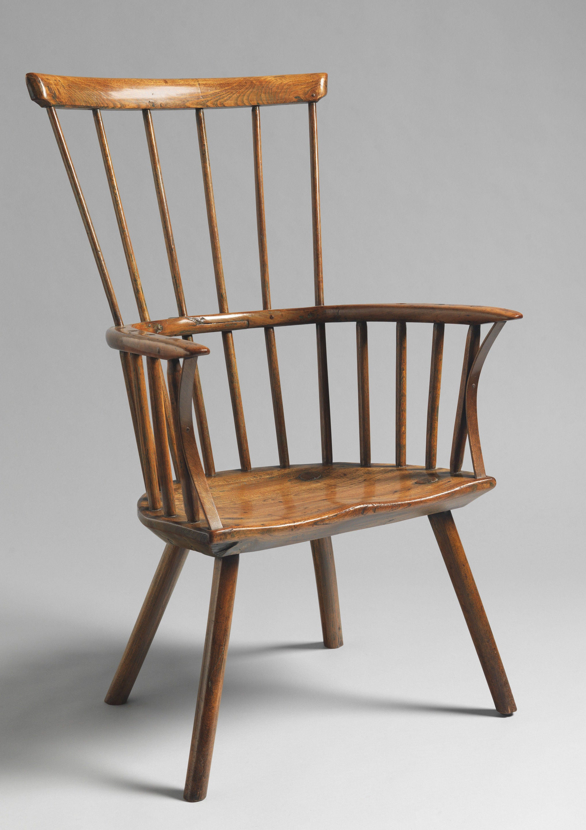 Primitive Comb Backed Windsor Armchair