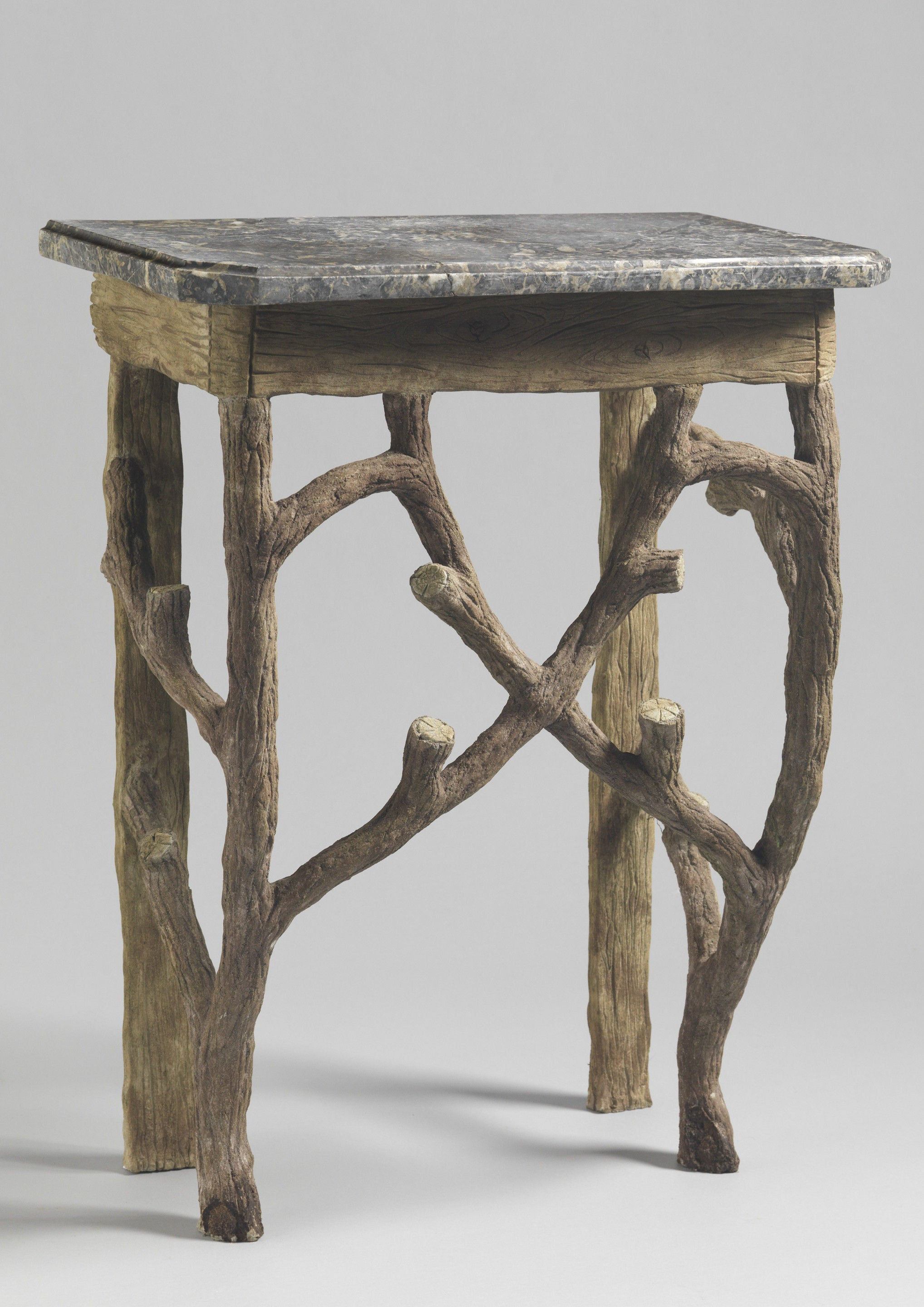 Naturalistic Branch Form Console Table