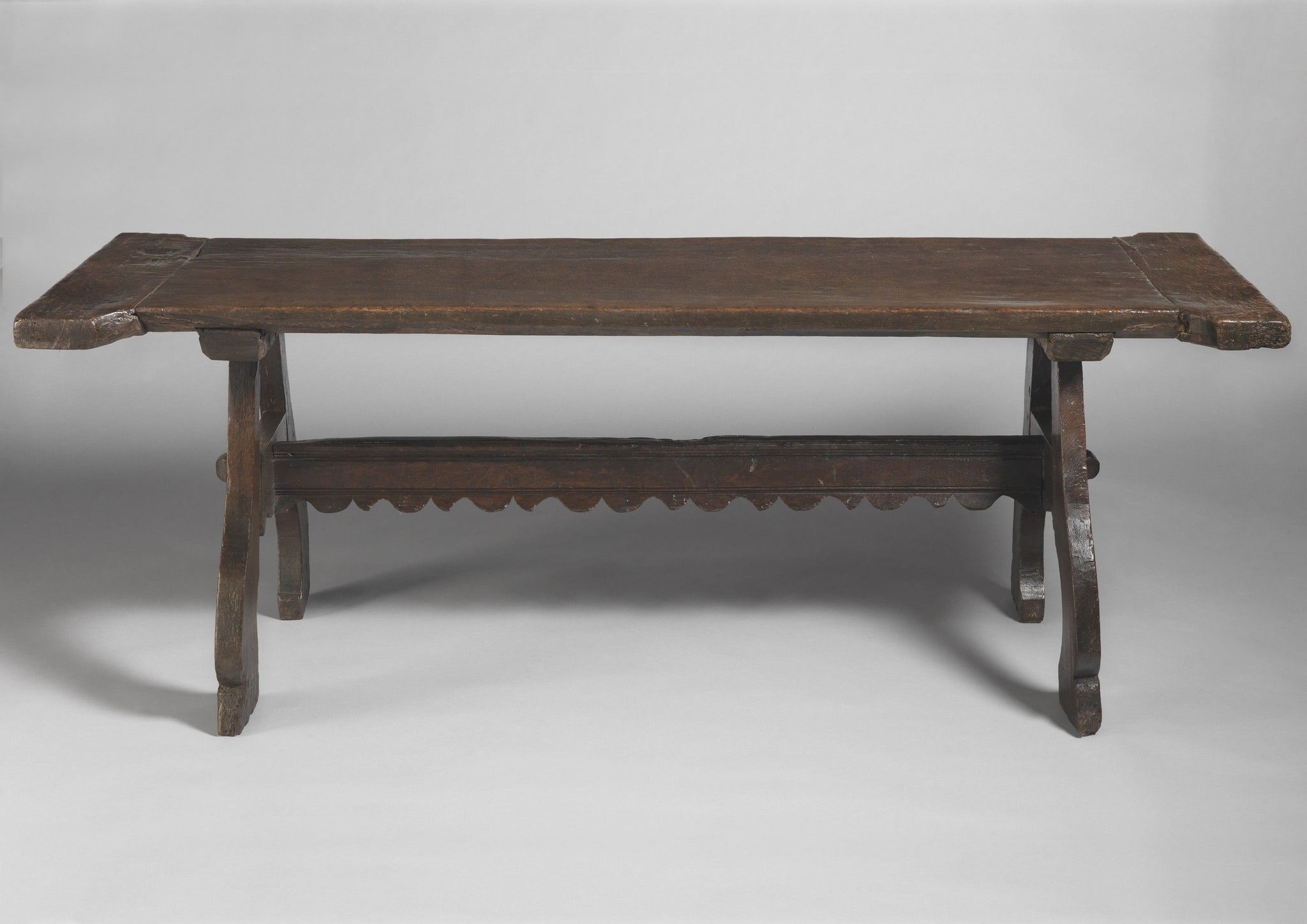 Sculptural Early 'I' Form Tavern Table