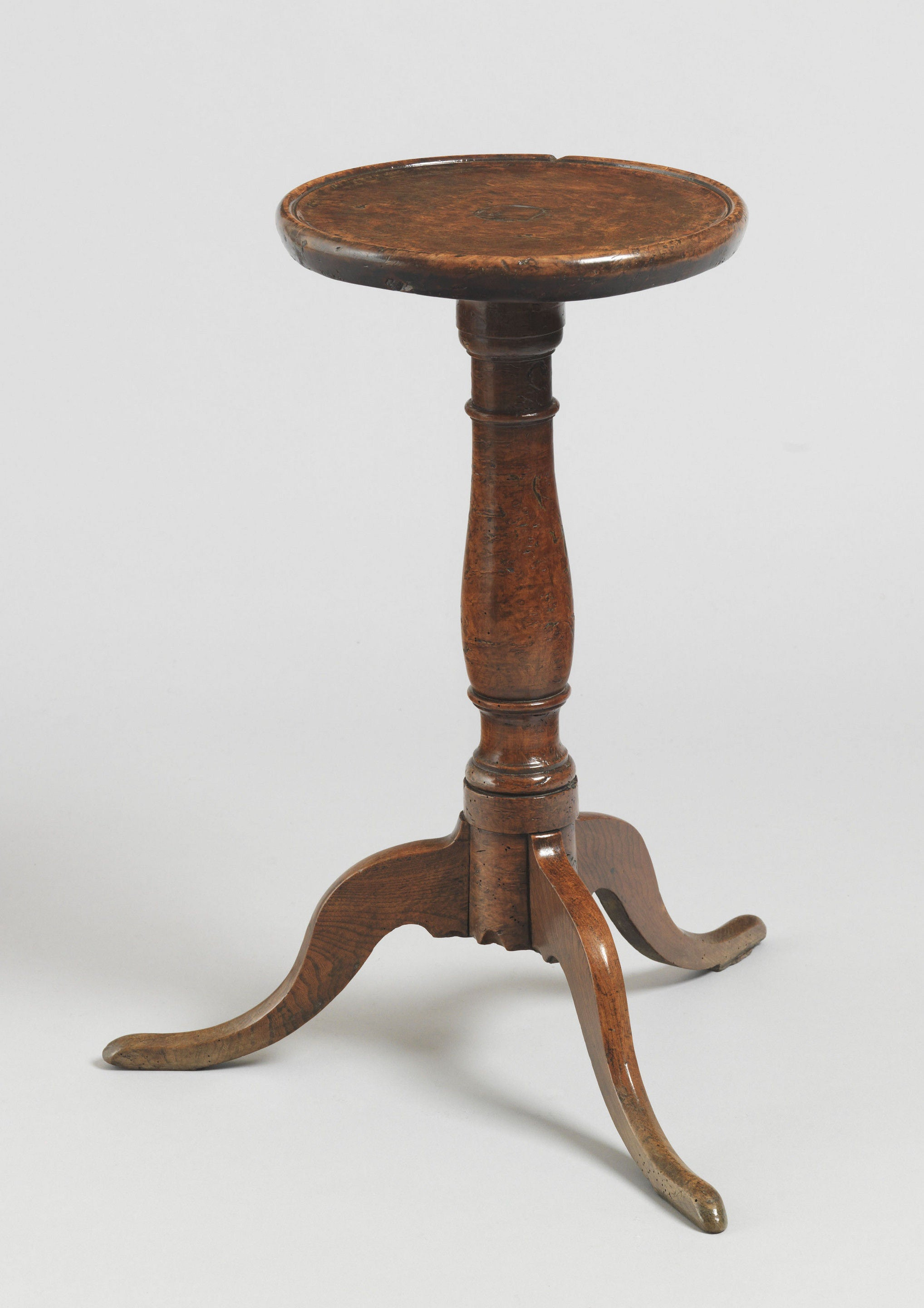 Fine Early  Dish Top Candlestand