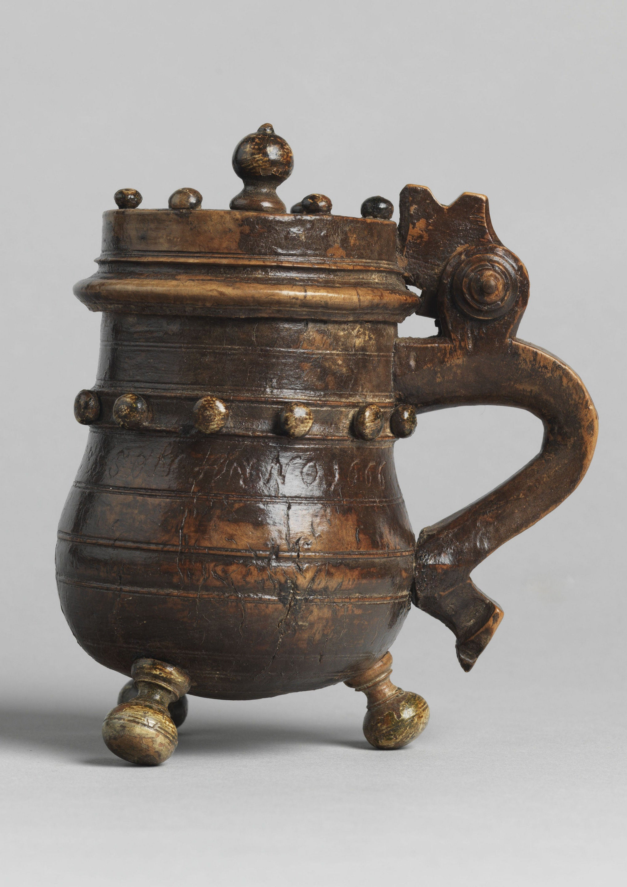 Rare Early Ceremonial Tankard of Diminutive Proportions