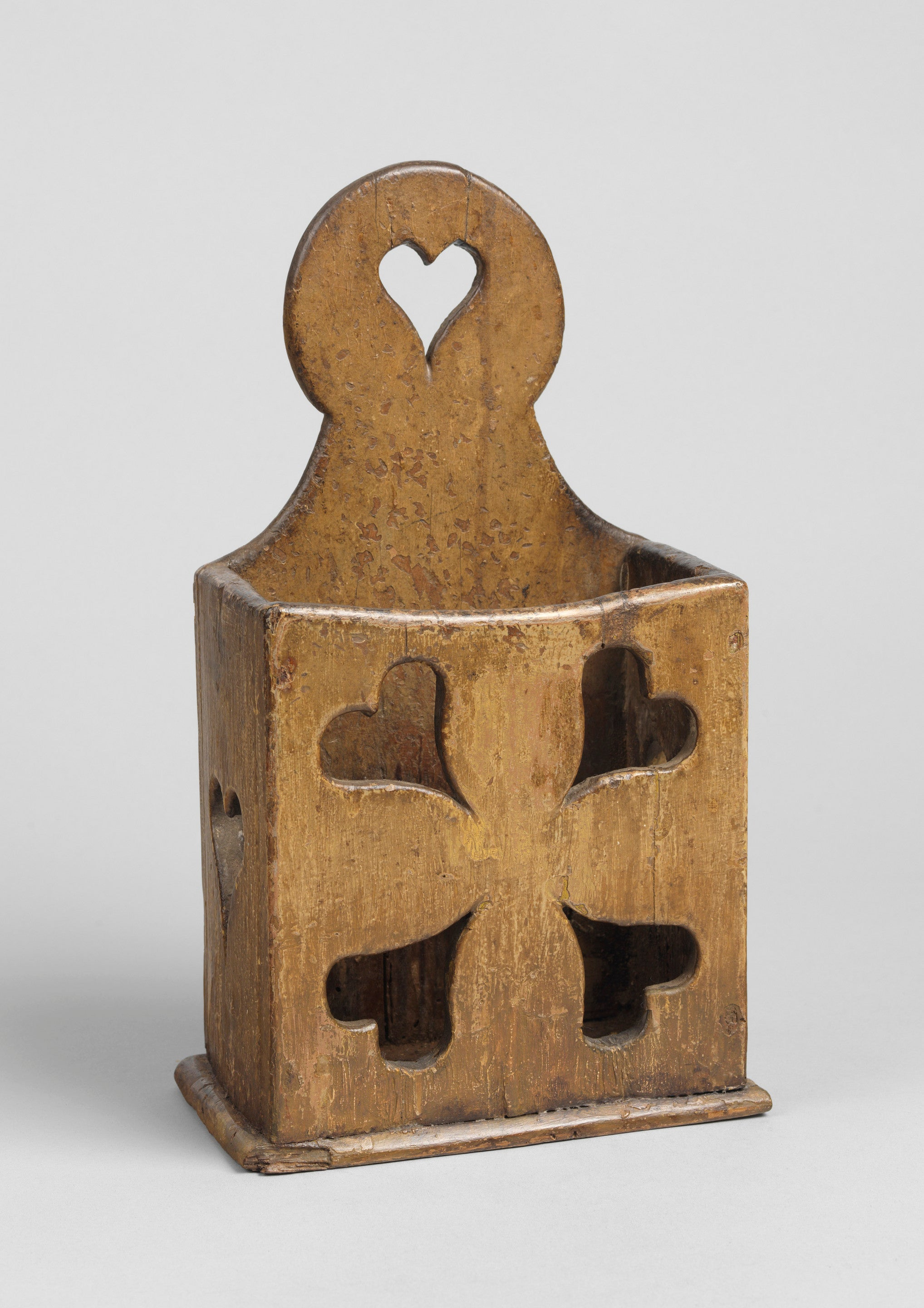 Graphic Folk Art Love Token Candlebox