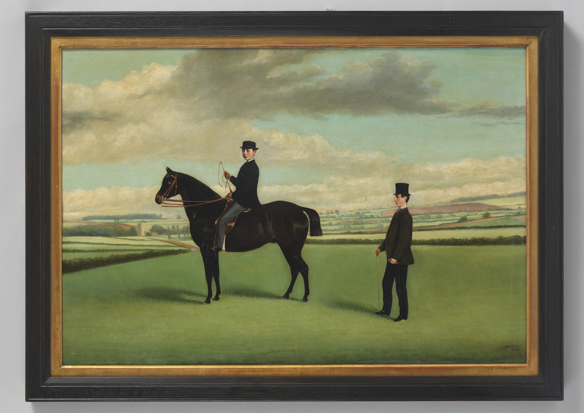 J Watkins, 'Two Men and A Horse'