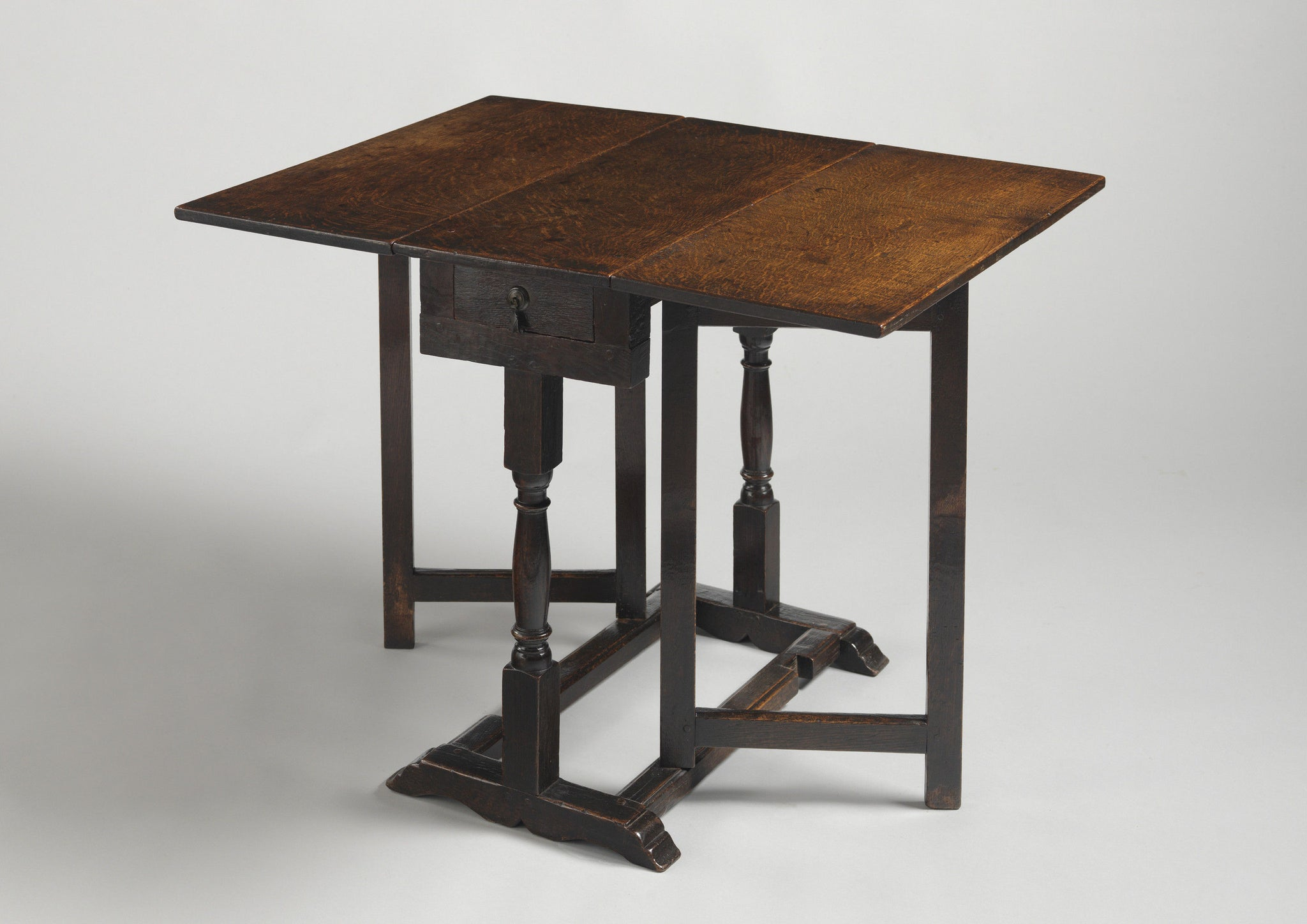 Rare Diminutive William and Mary Drop Leaf Table