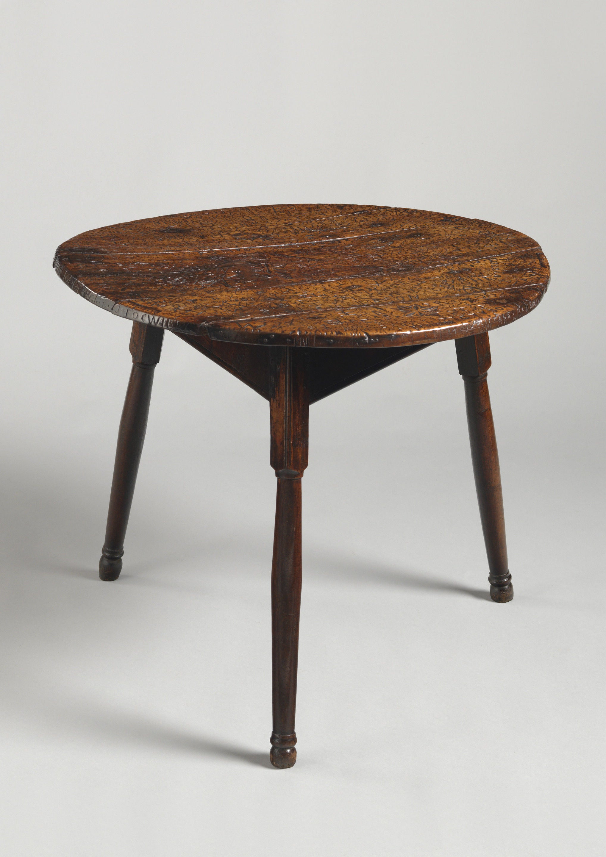 Remarkable Folk Art Tavern Table