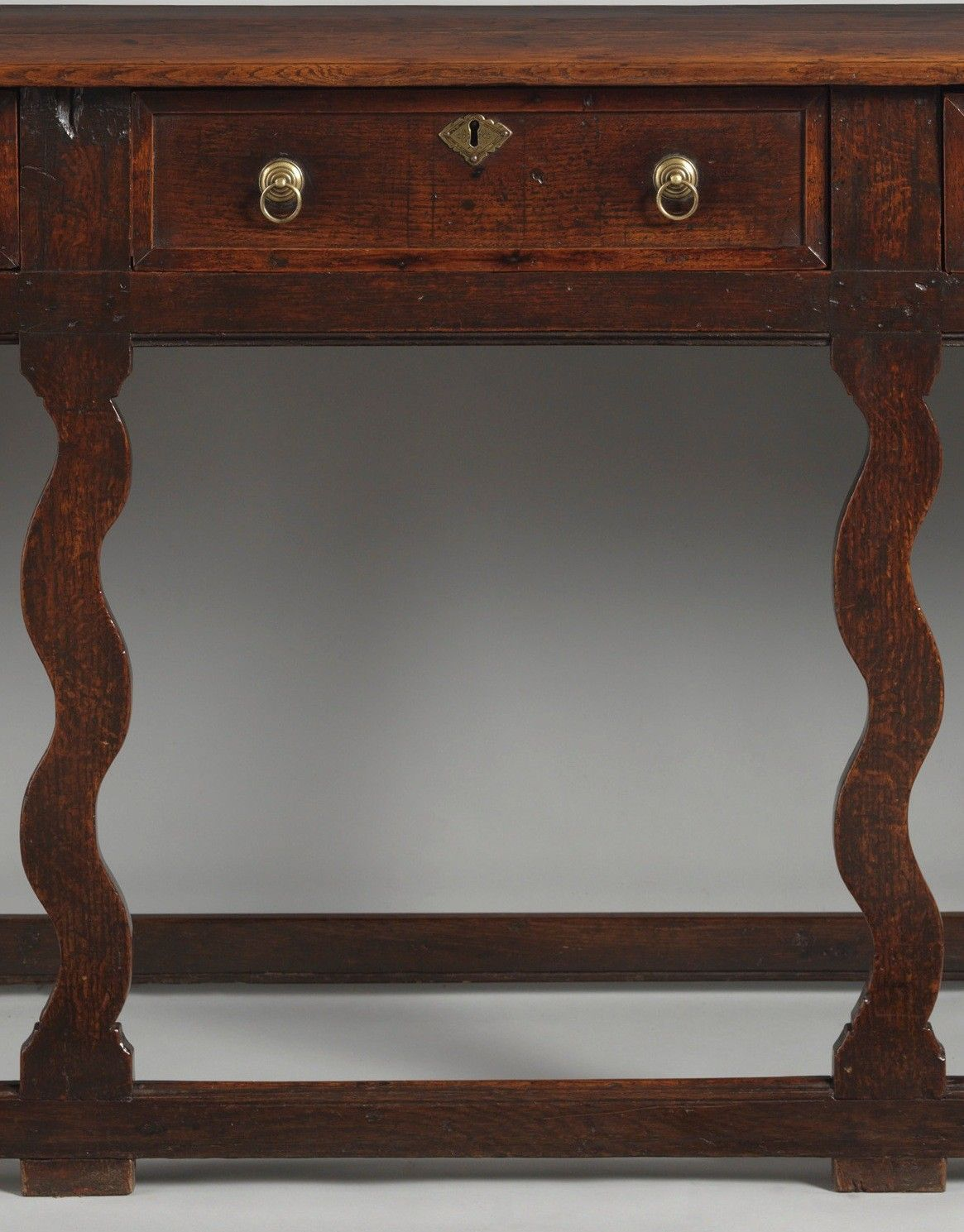Rare Early Silhouette Leg Serving Dresser