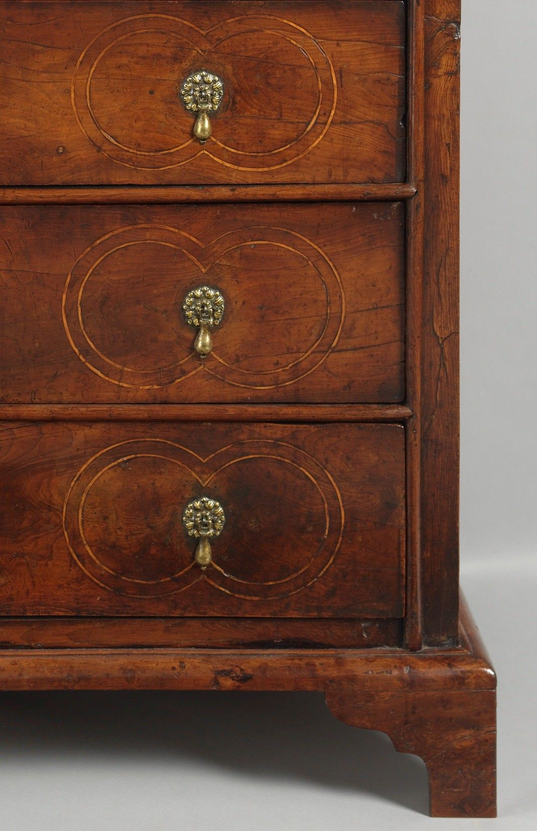 Delightful Small Queen Anne Period Chest of Drawers