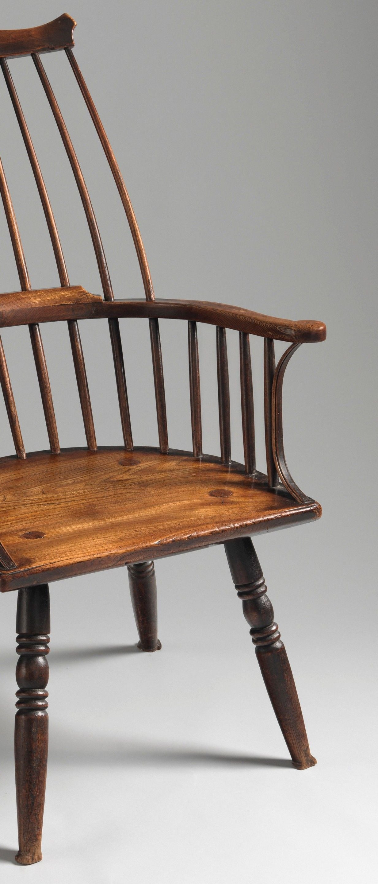 'Lobster Pot'' Form Windsor Comb Back Chair