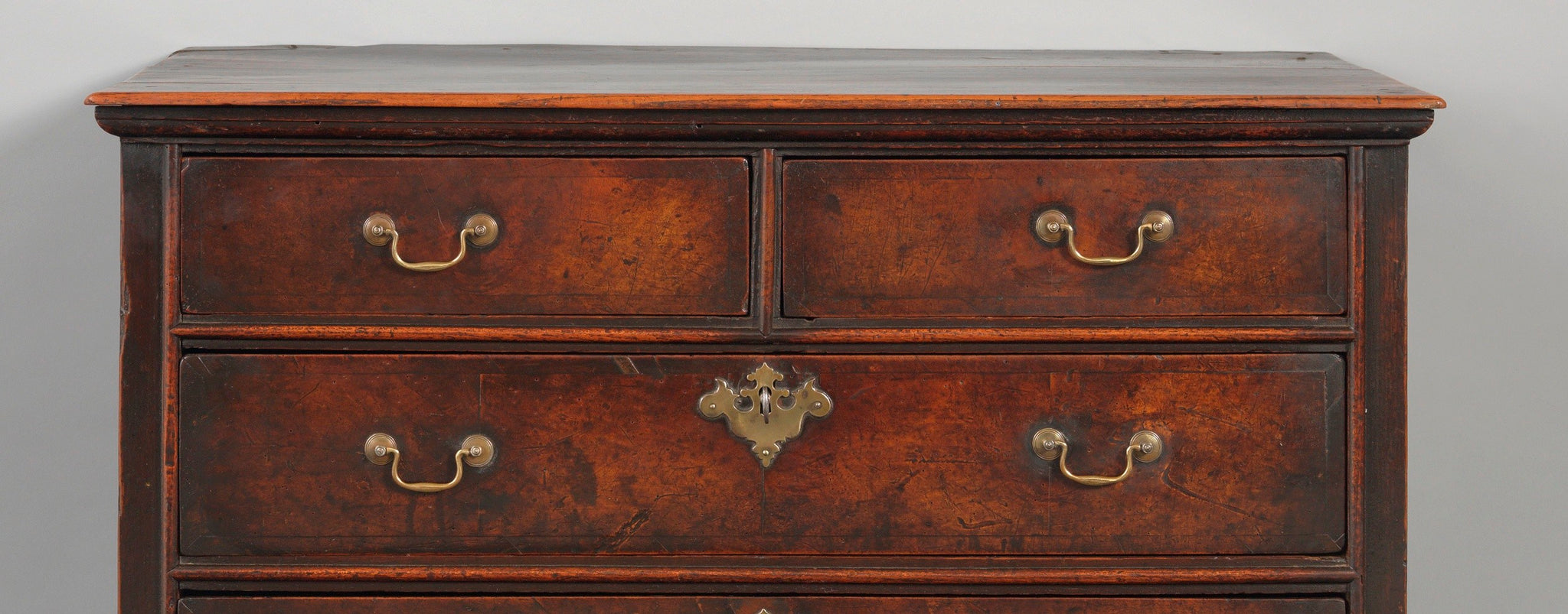 Unusual and Delightful Small Early Provincial Chest of Drawers
