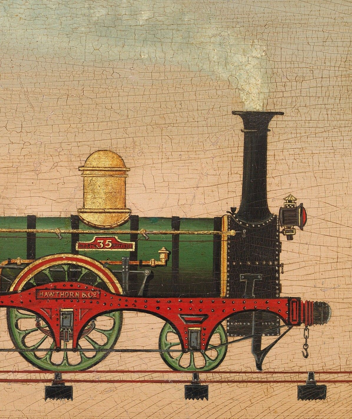 North British Locomotive, No.35