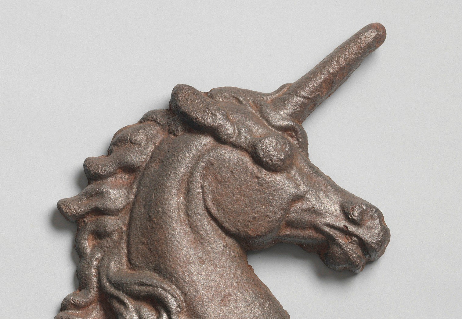 Recumbent Stylised Armorial Unicorn
