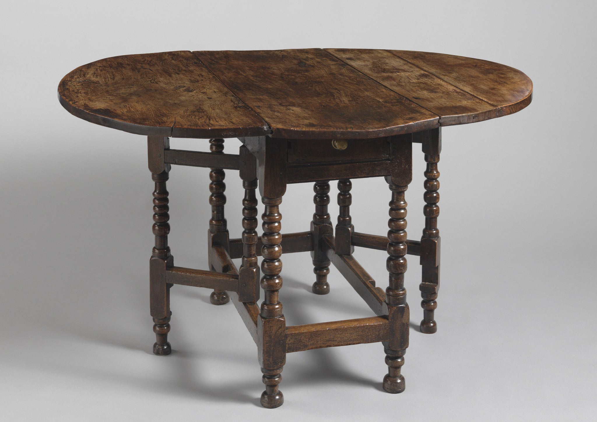 Characterful Early Oval Drop Leaf Table