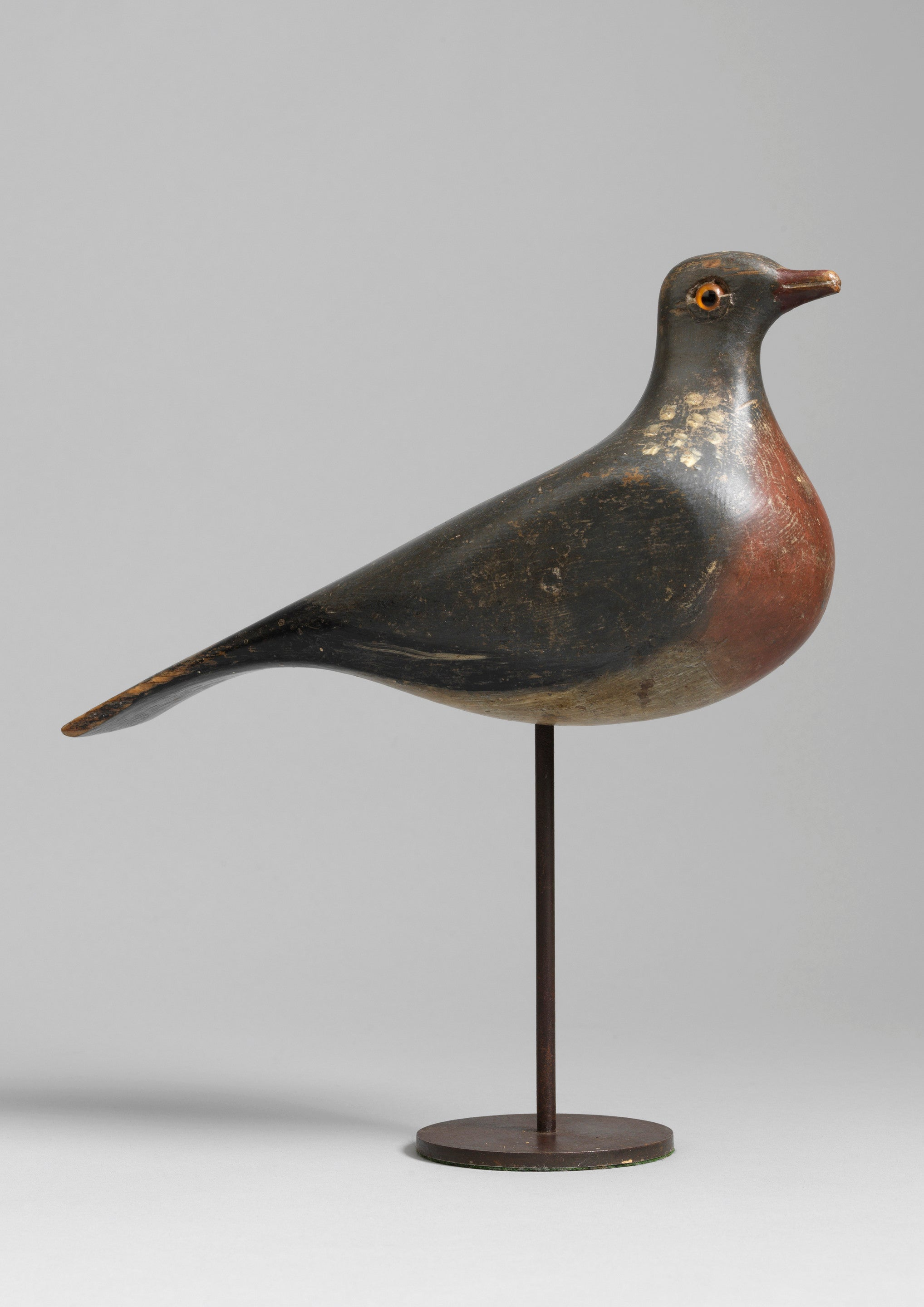 Rare Early Wood Pigeon Decoy