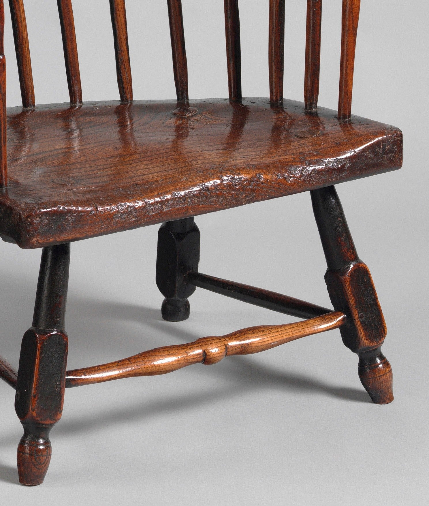Primitive Vernacular Fireside Windsor Chair