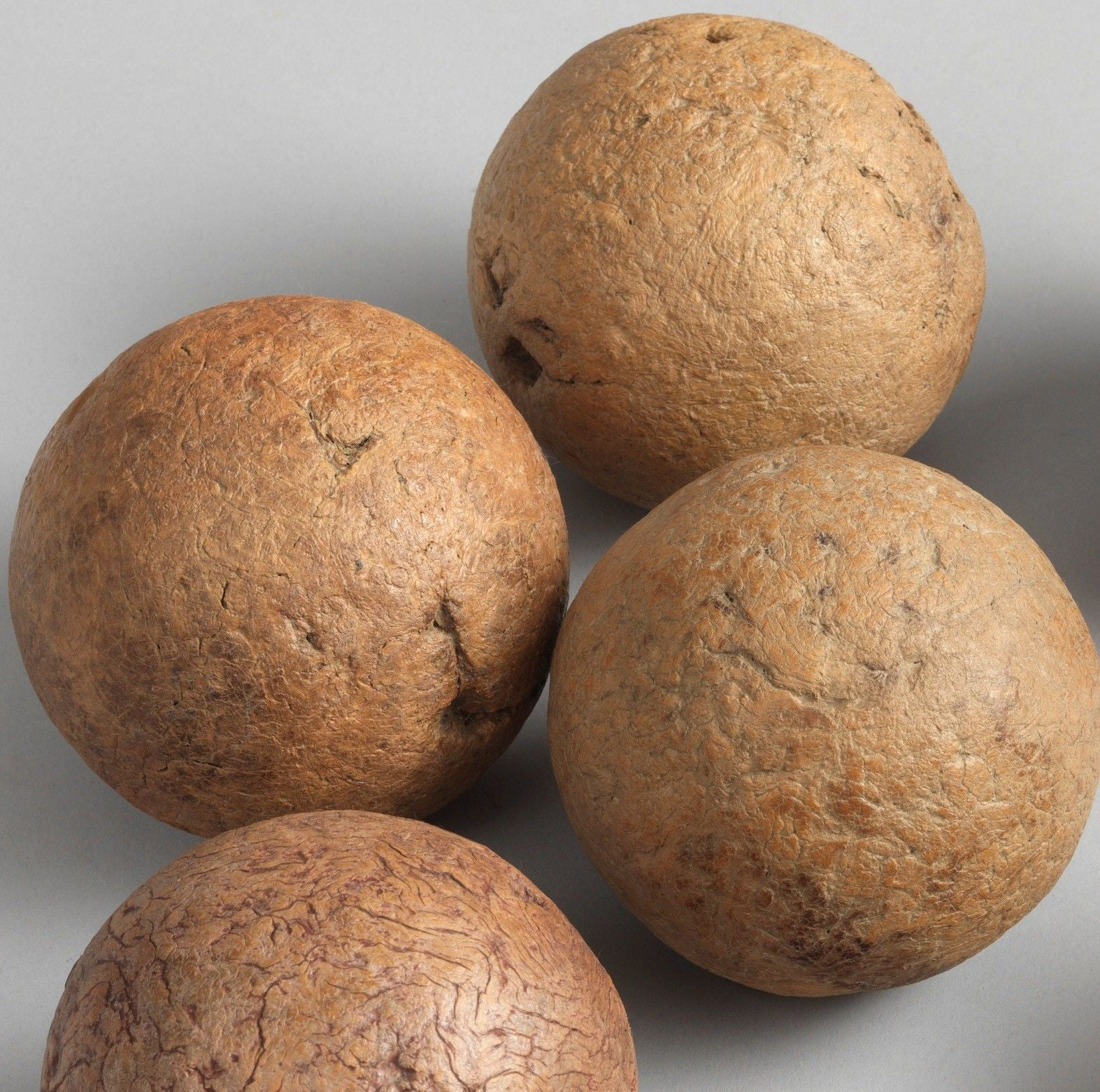 Sculptural Collection of Six Early Boules