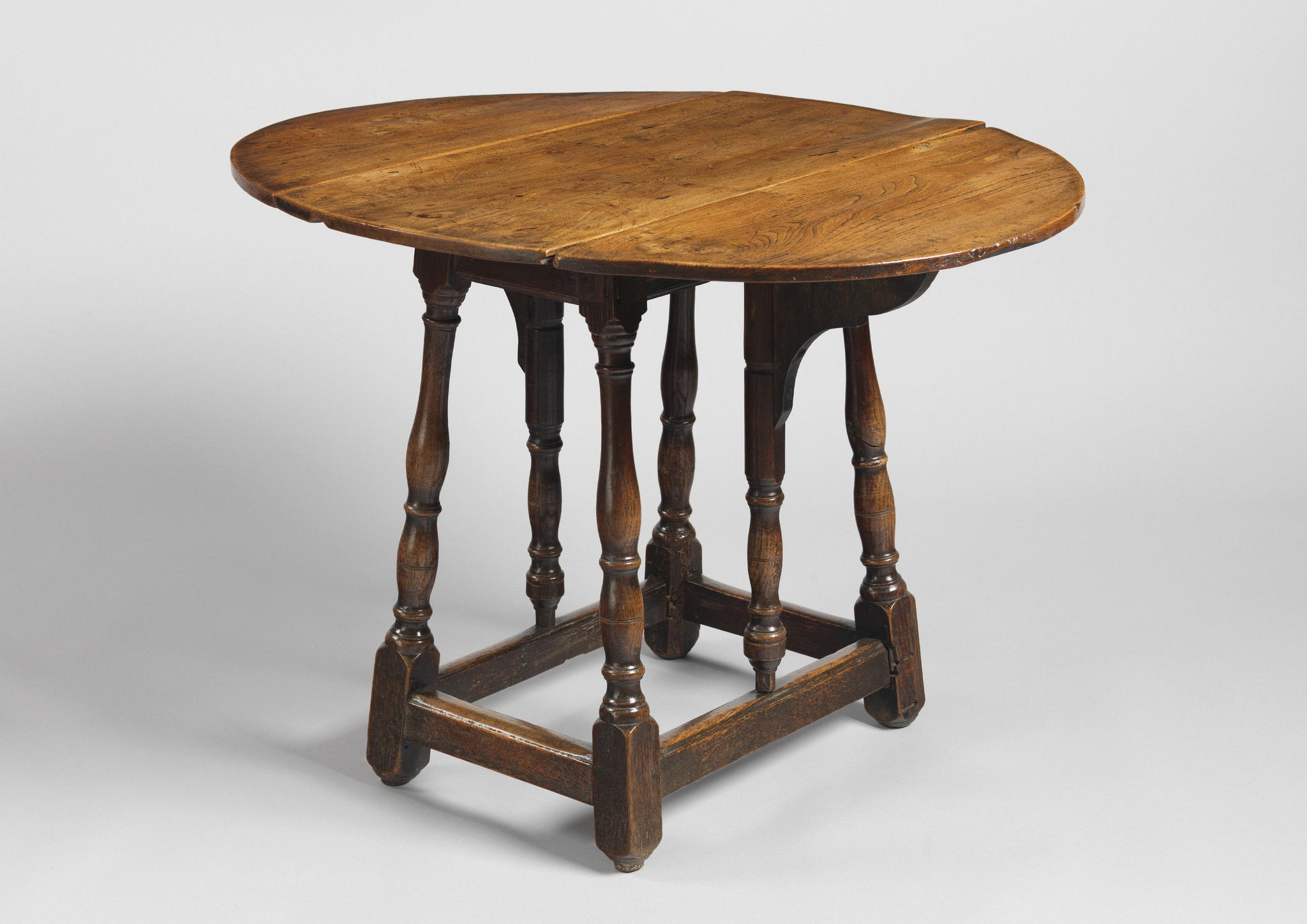 Unusual Butterfly Action Oval Drop Leaf Centre Table