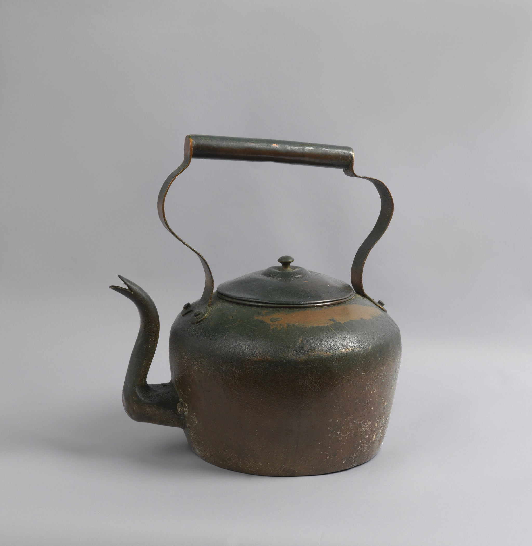 Huge Early Copper Kettle