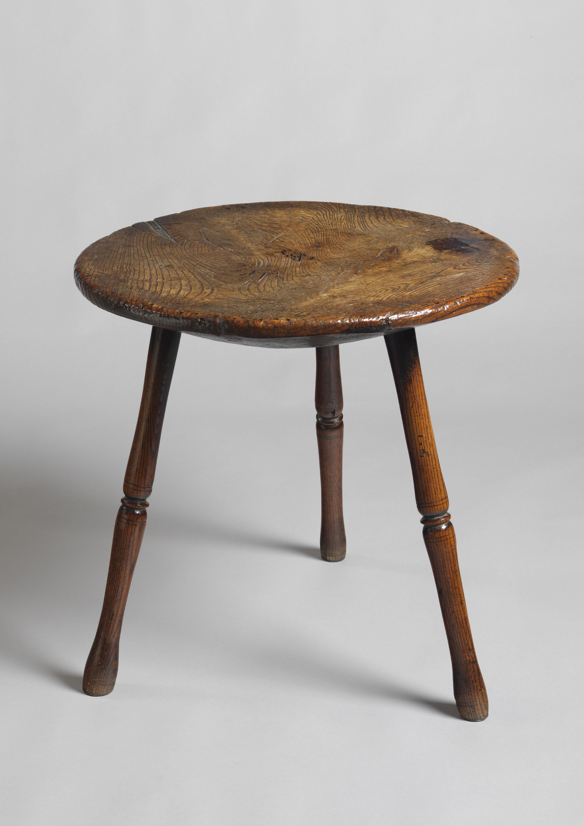 Exceptional Early Single Plank Top Cricket Table