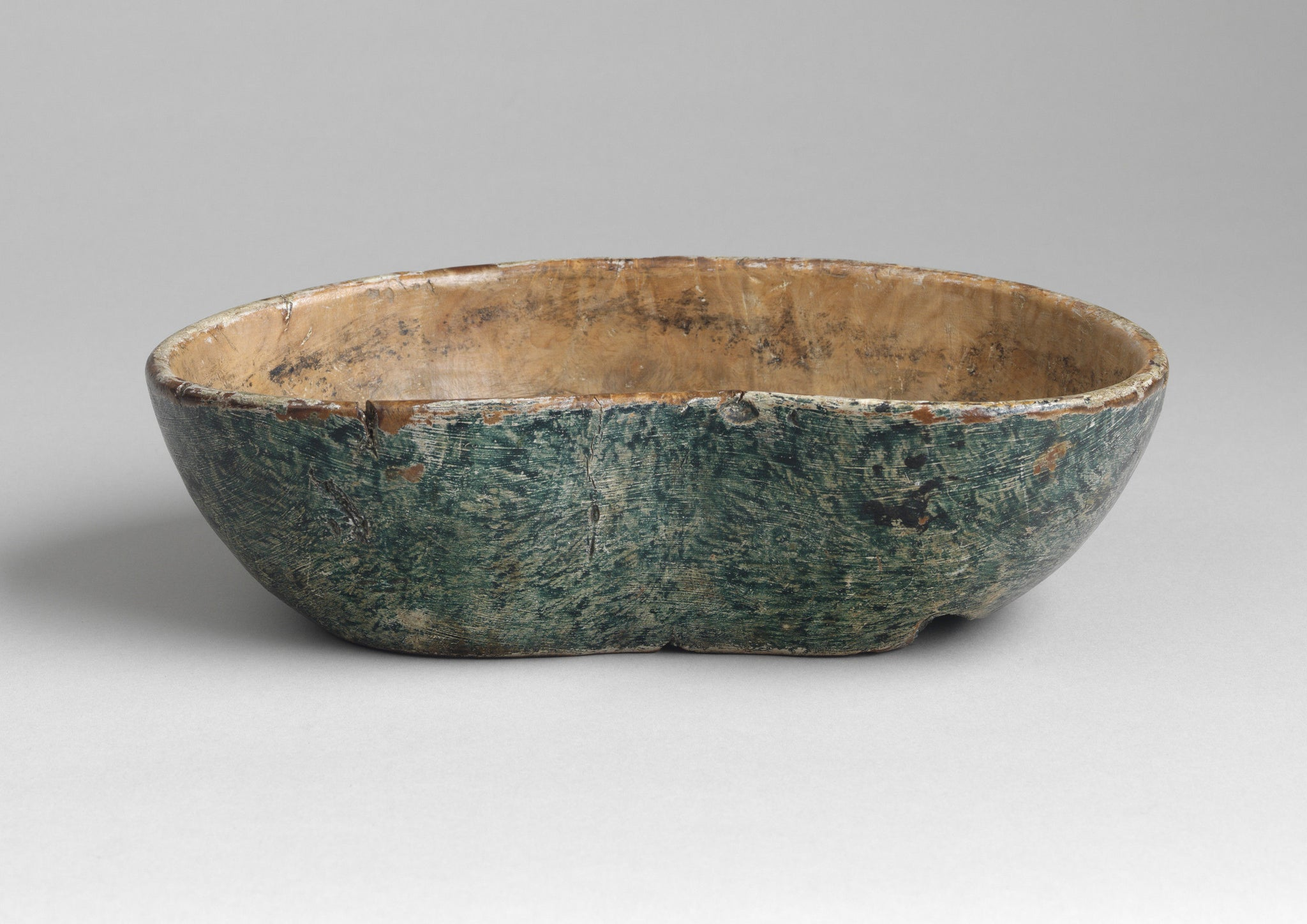 Fine Early Domestic Rootwood Bowl