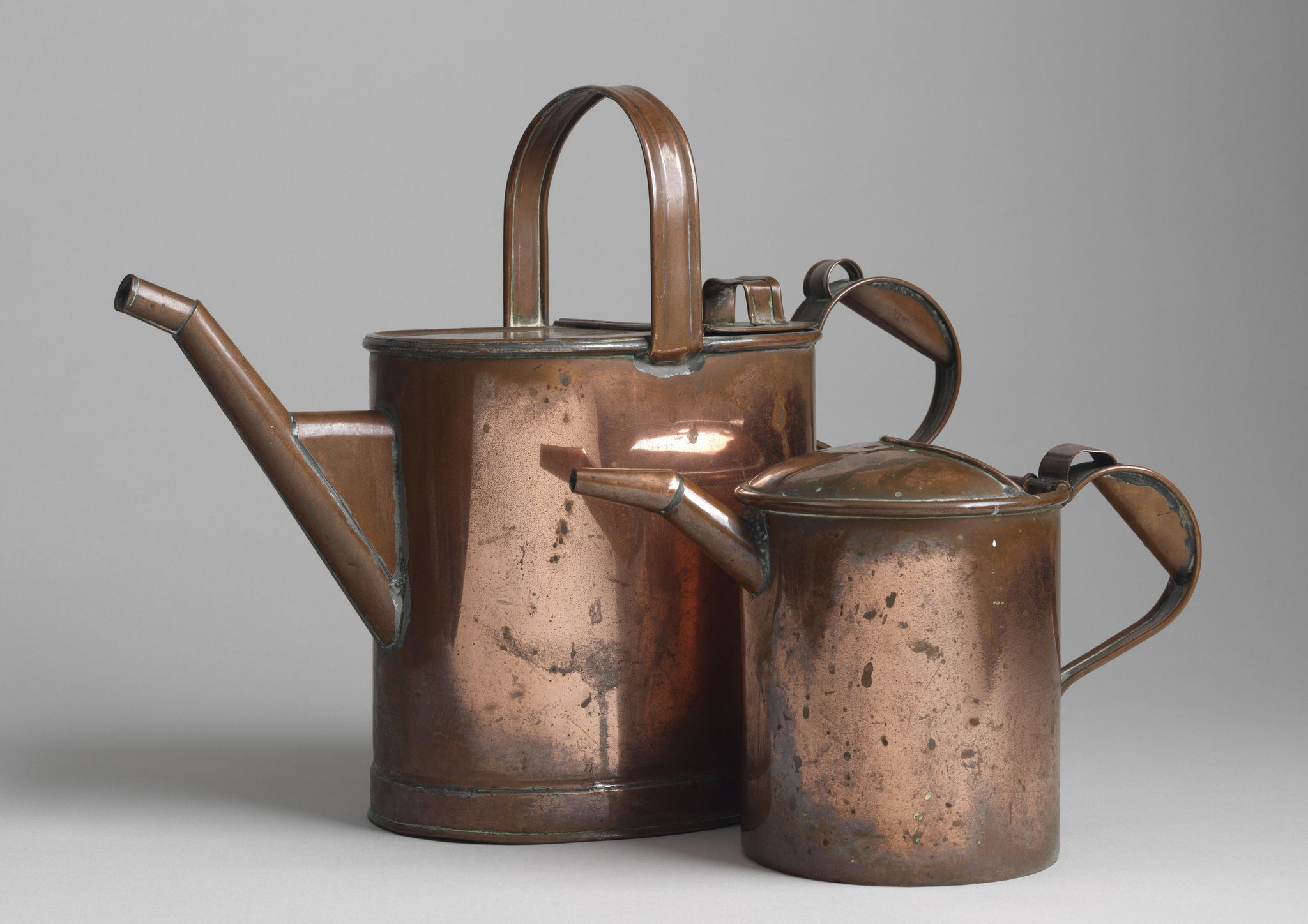 Two Exceptional Quality Victorian Spouted Water Jugs