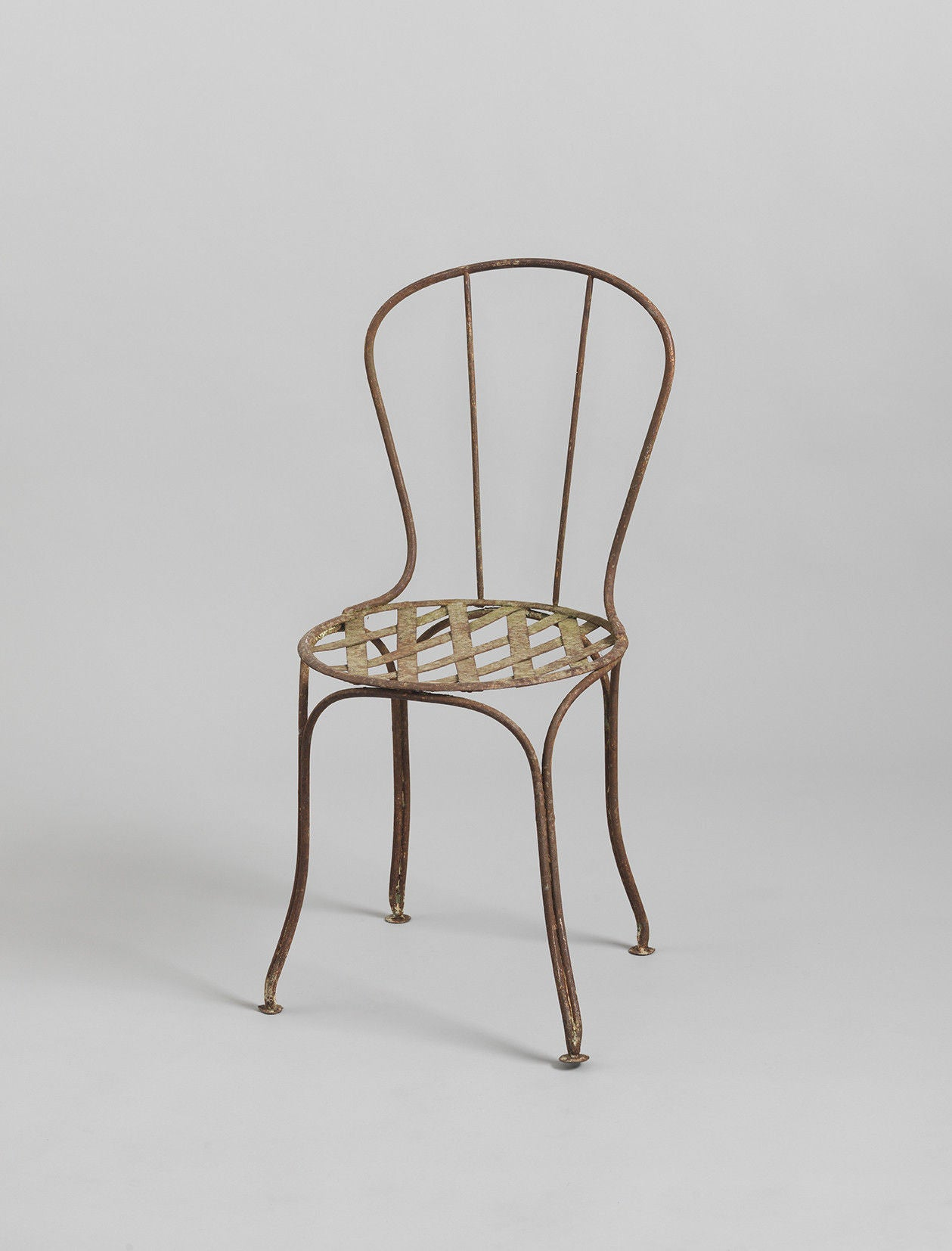 Minimal Early Metal Chair