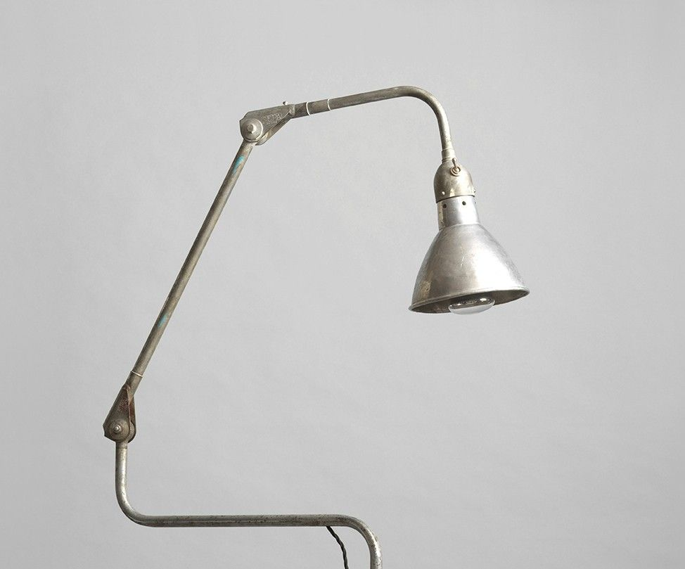 Unusual Industrial Vintage Task Lamp