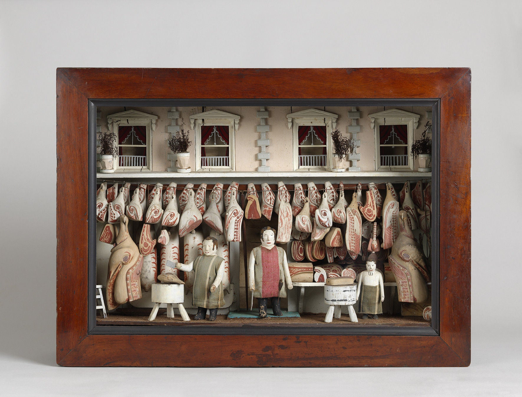 Remarkable Butcher's Shop Diorama
